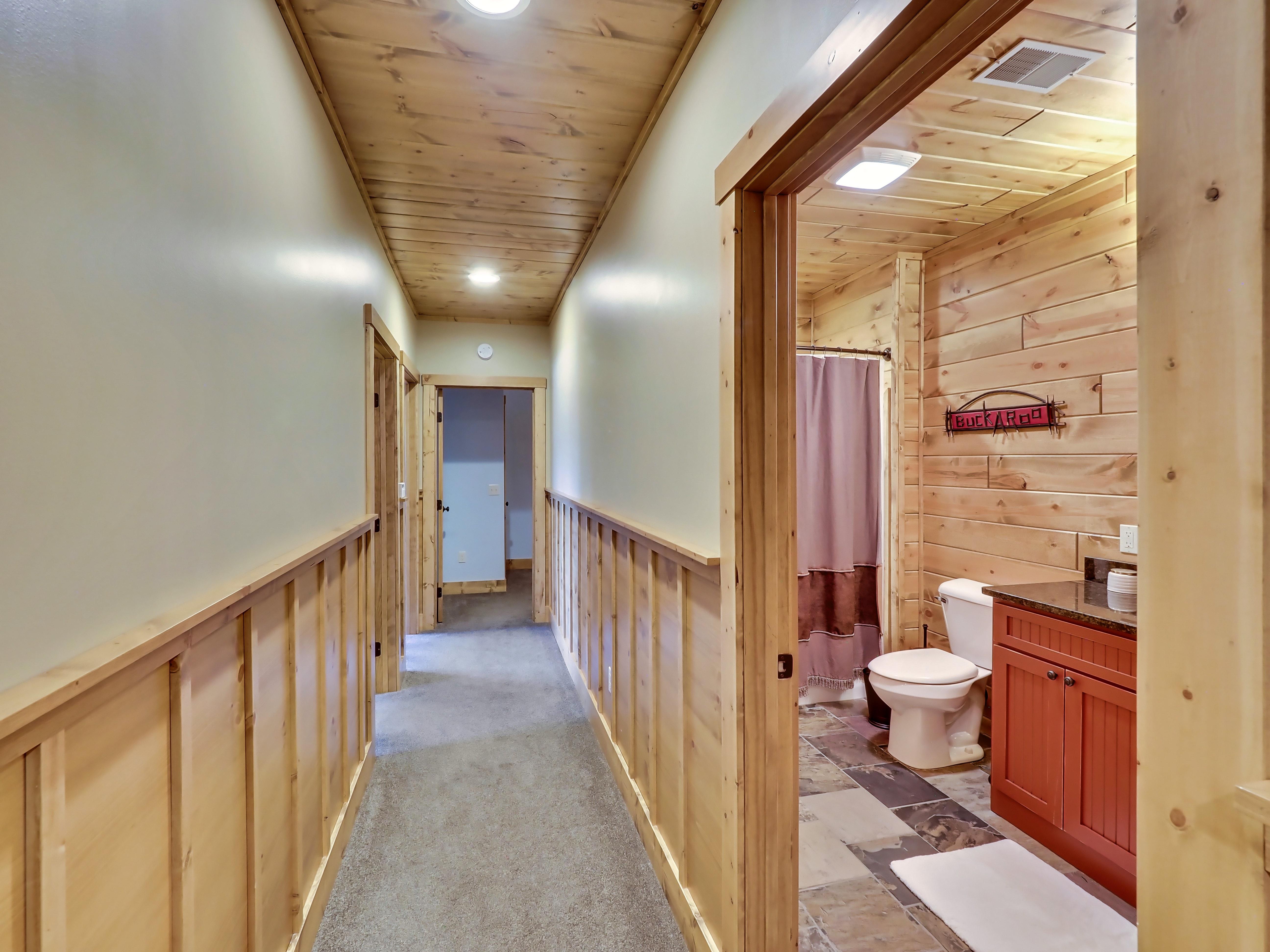 Downstairs Bedroom Hallway