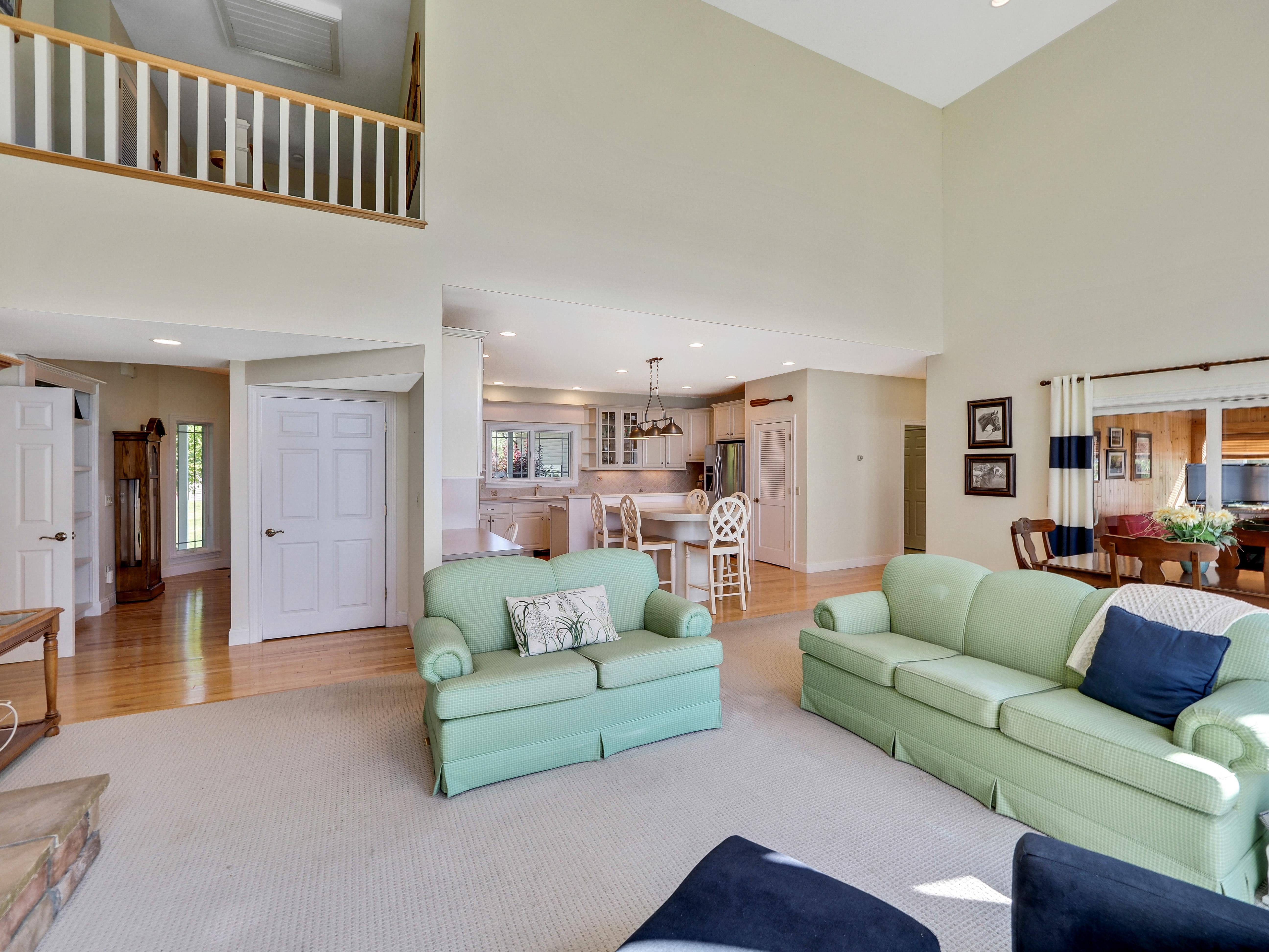 Open Floorplan Living Room