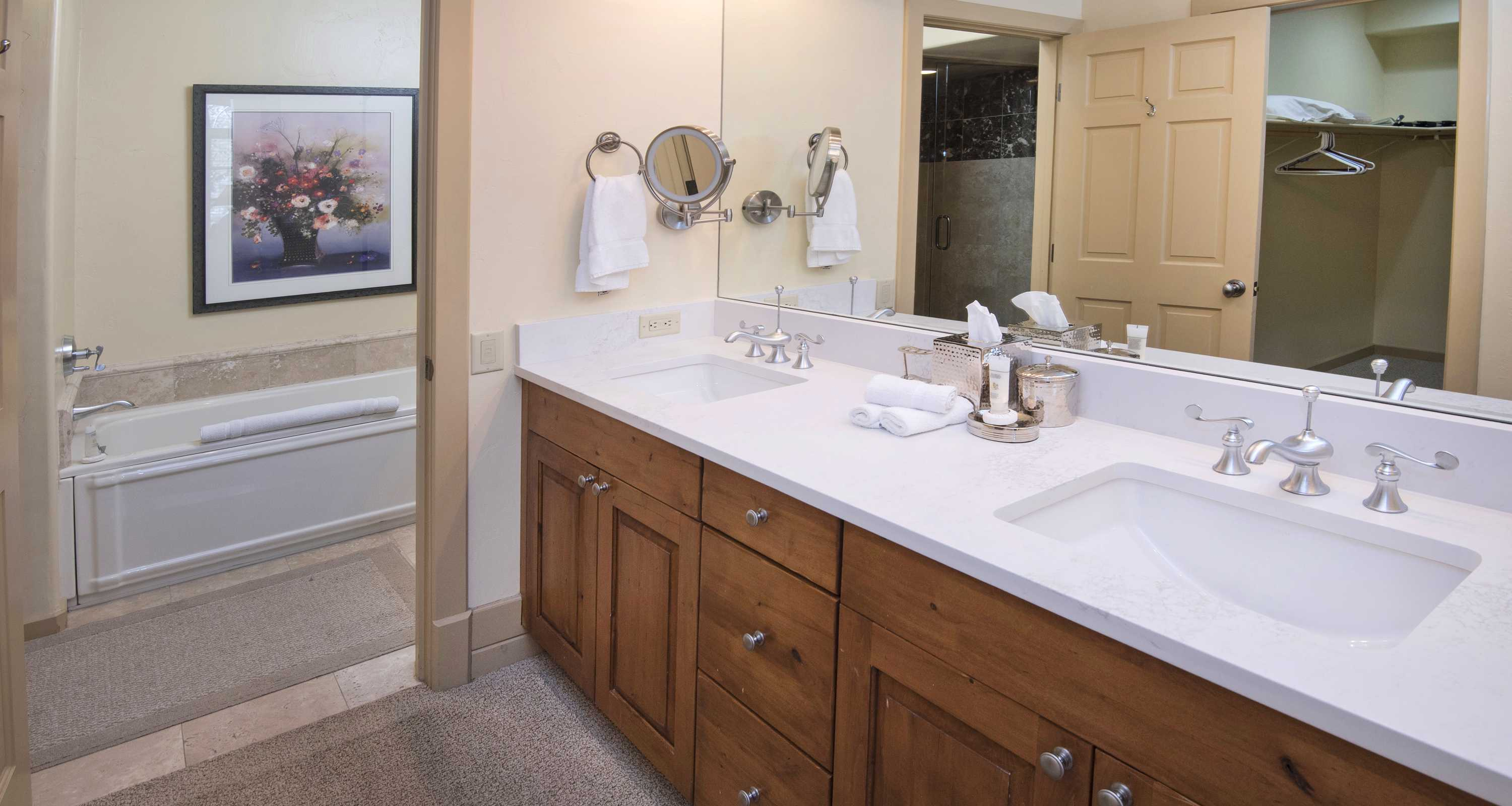 Double sinks for double speed in the morning