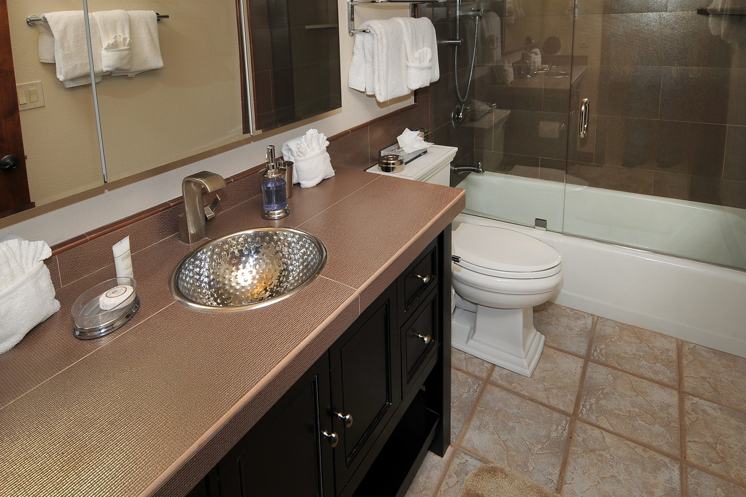 Newly remodeled bathrooms!