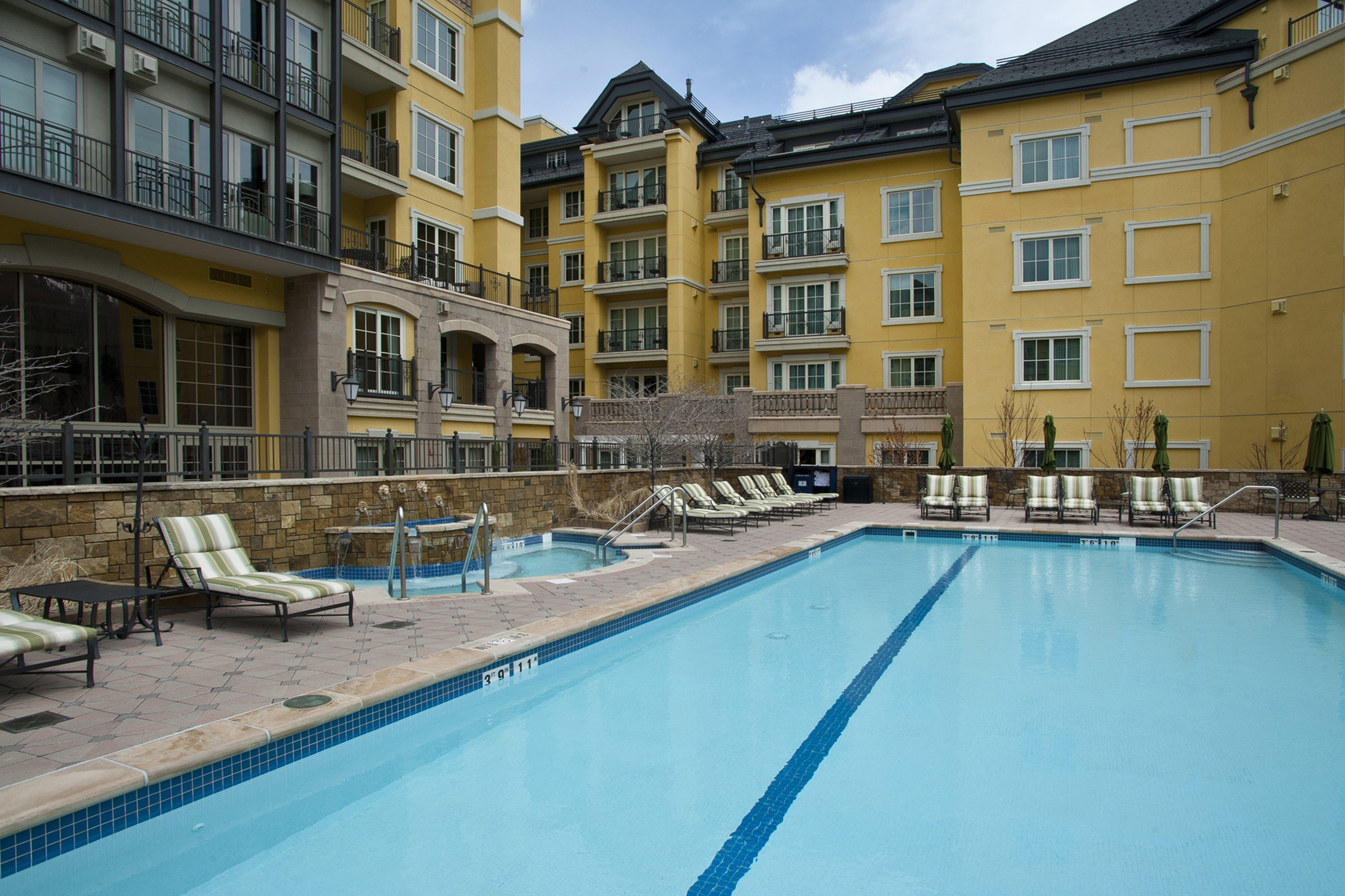 Splash around in one of Vail's nicest pool and hot tub areas!