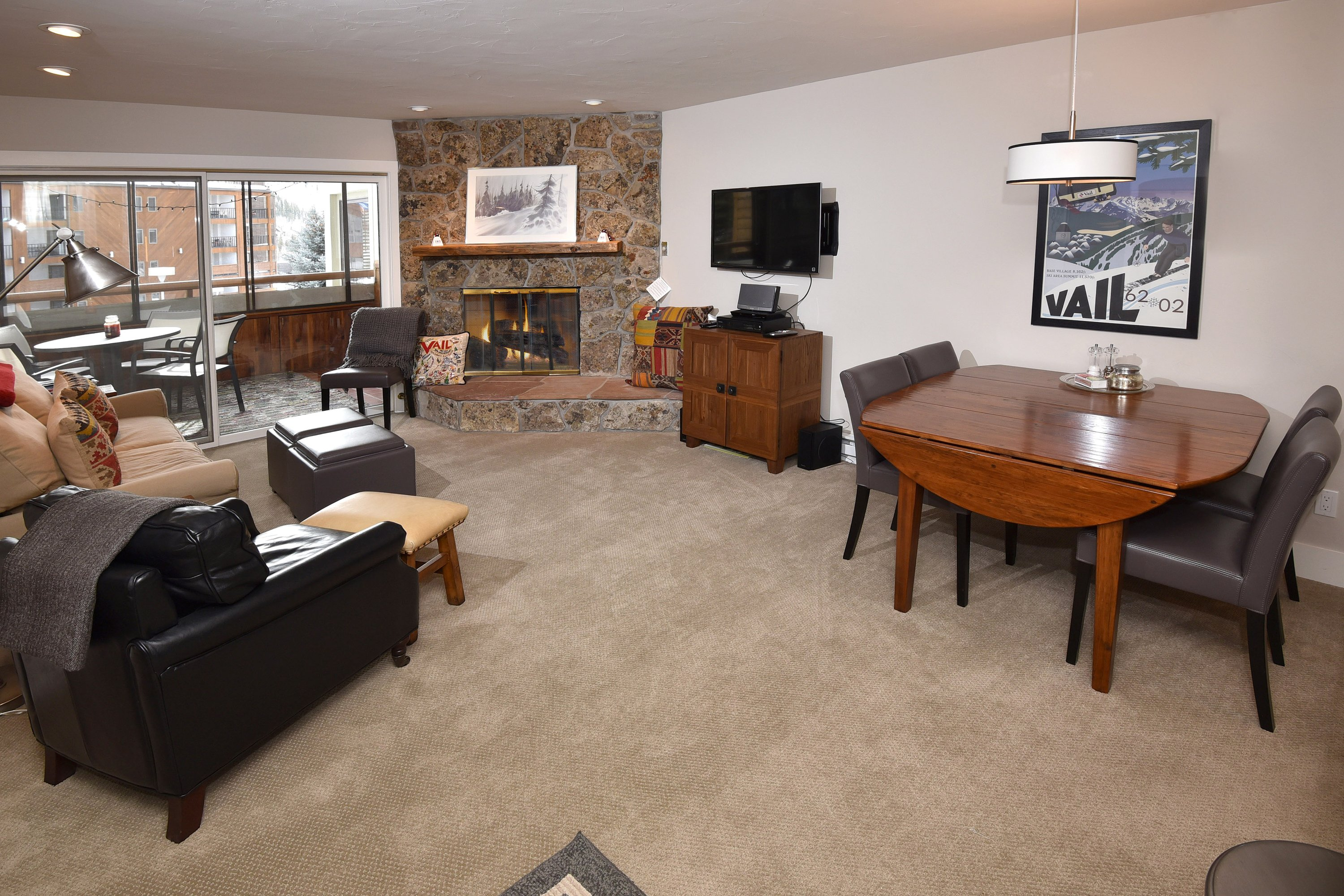 2 Bed 2 Bath Newly Remodeled Snowfox On The Free Shuttle Bus To Vail