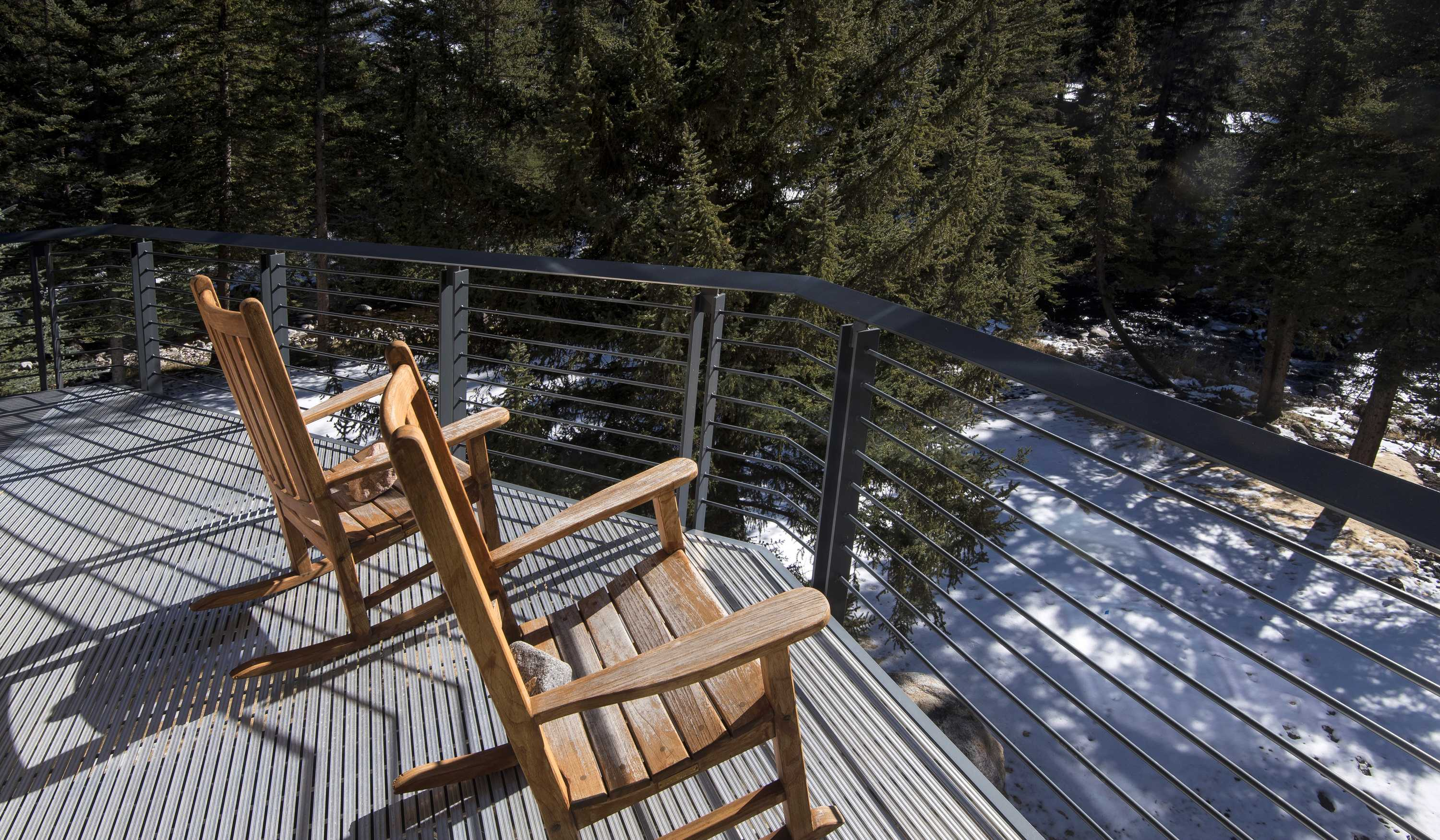 Enjoy the great outdoors from your balcony
