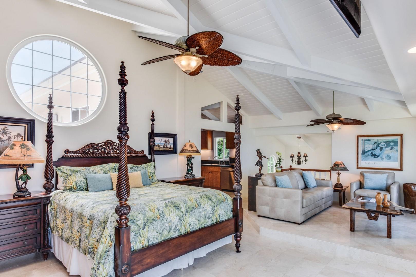 Hale Lihikai Master bedroom