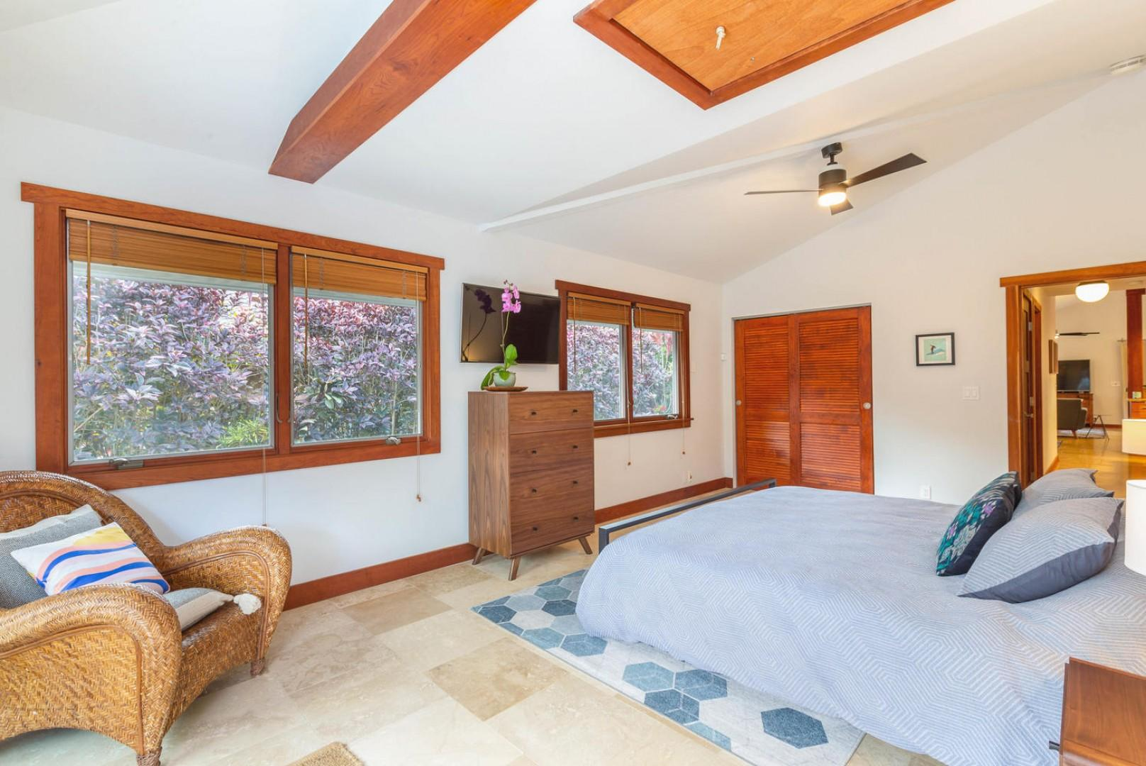 Spacious and comfortable second bedroom
