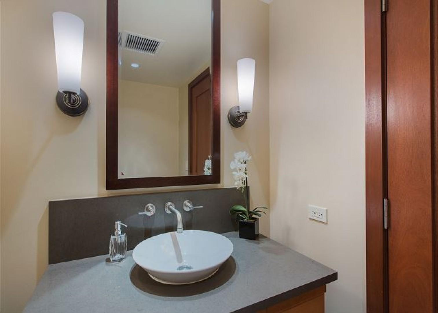 3rd Bathroom has a showe