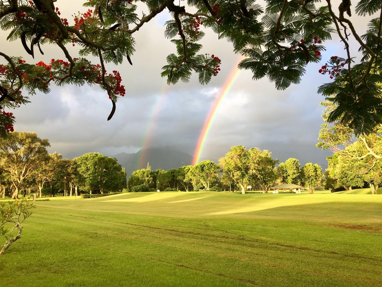 Kauai rainbow.