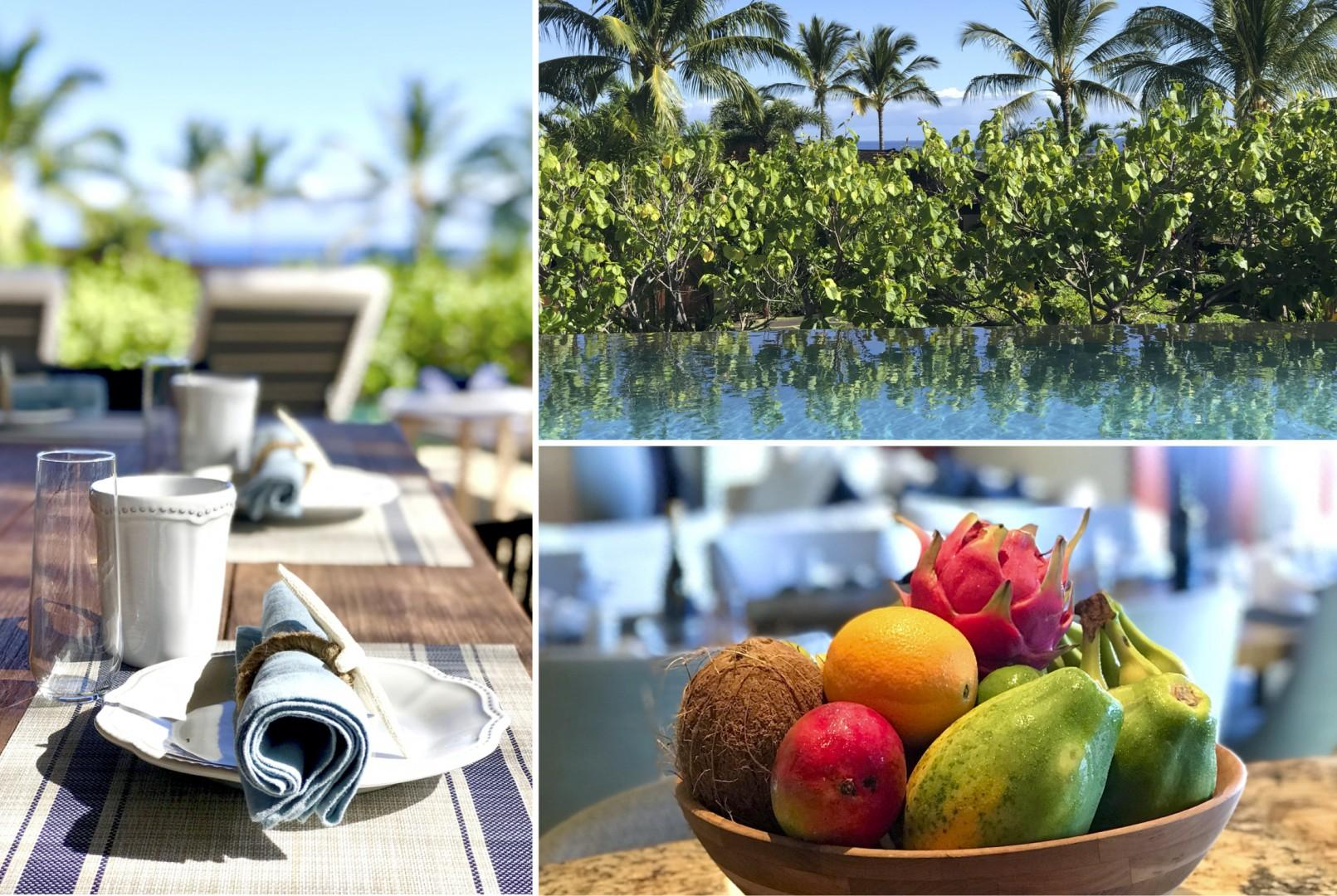 High end touches and tropical surroundings offer guests blissful serenity.