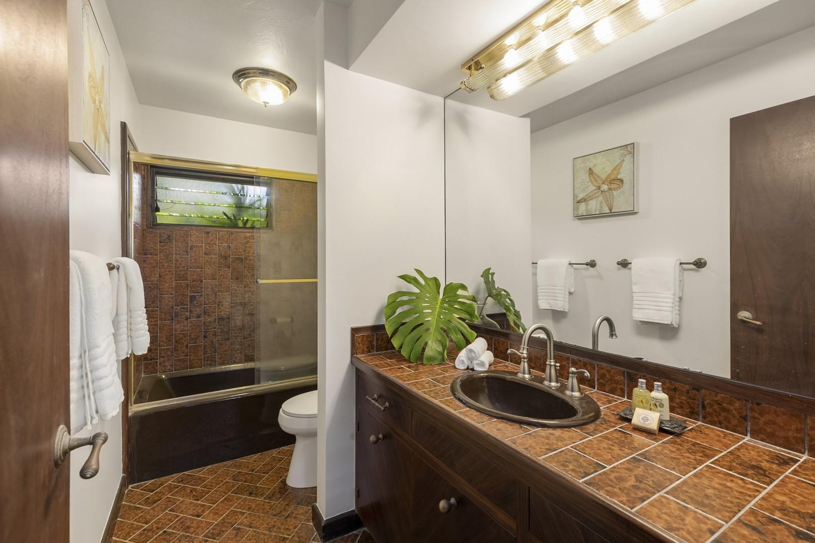 Ensuite Bathroom to Downstairs Guest Bedroom