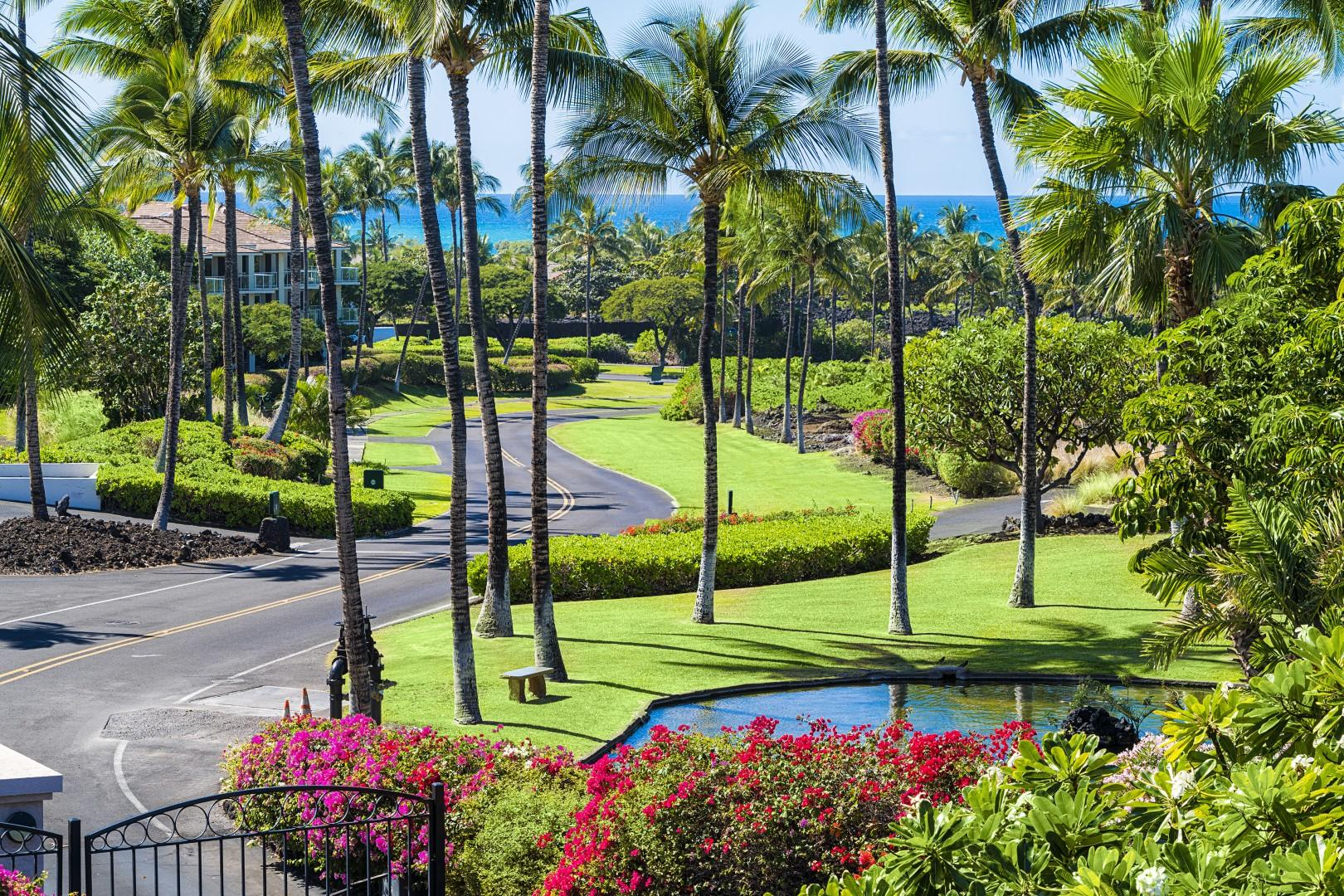 Breathtaking views from the expansive Lanai!