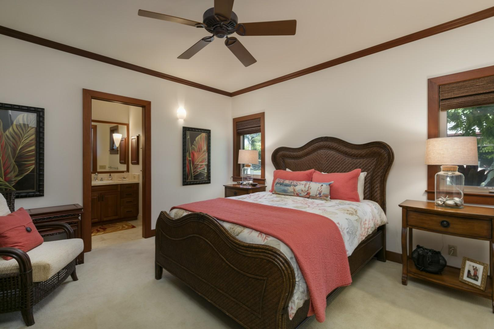 3rd Bedroom with QUEEN BED and its own bathroom