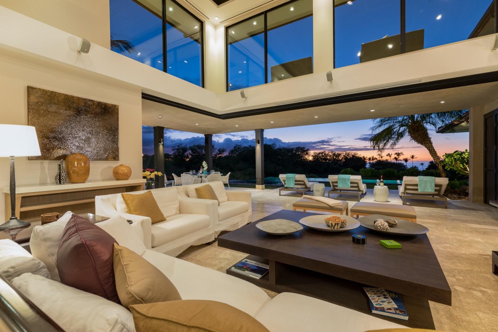 Unwind indoors in total luxury