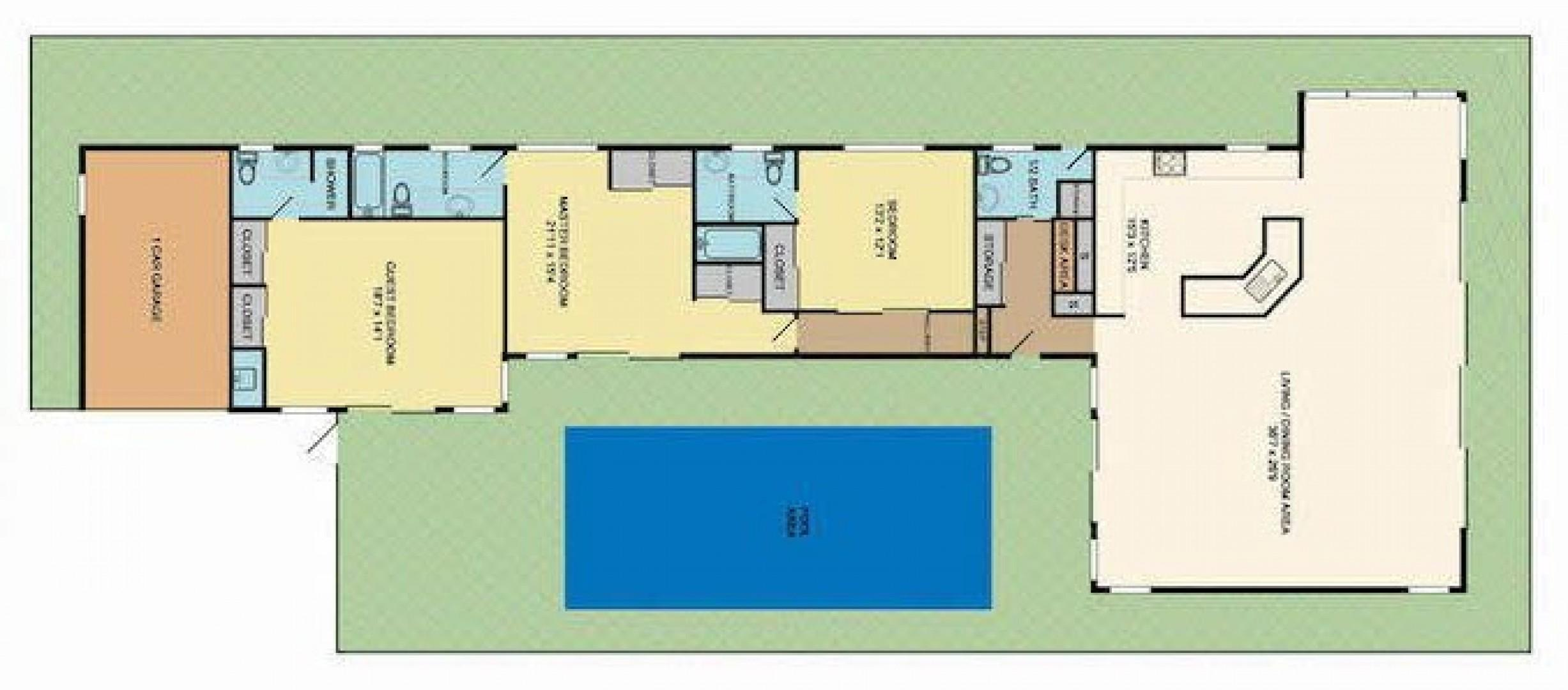 Hale Makai at Diamond Head - Floor Plan