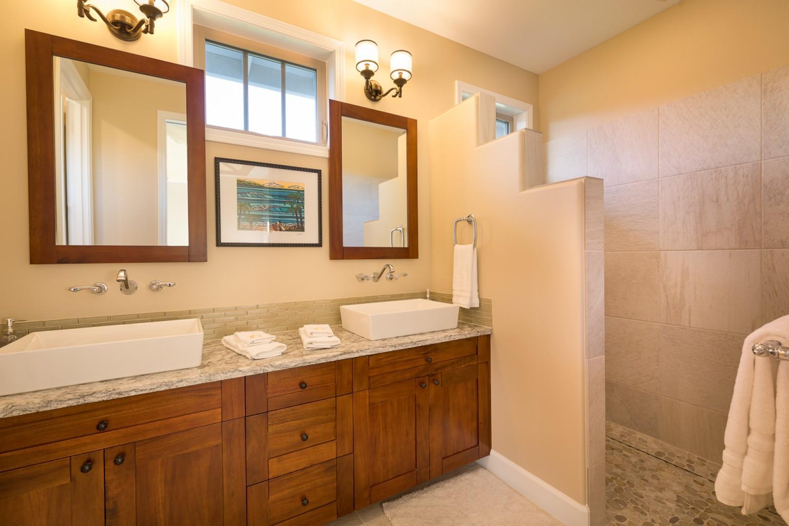 The en suite bath for master bedroom two