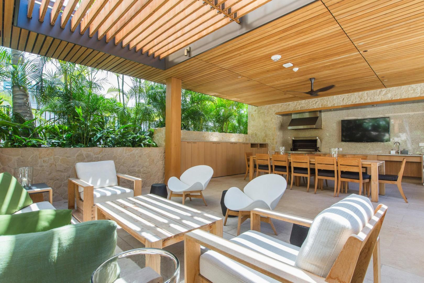 Reserve your own BBQ cabana