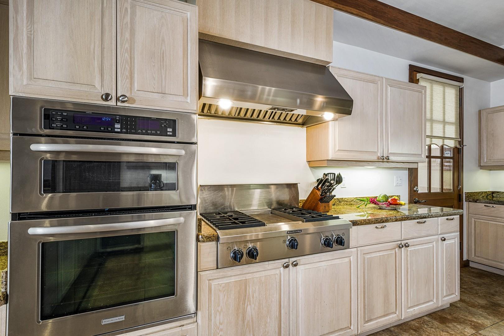 Commercial style gas range!