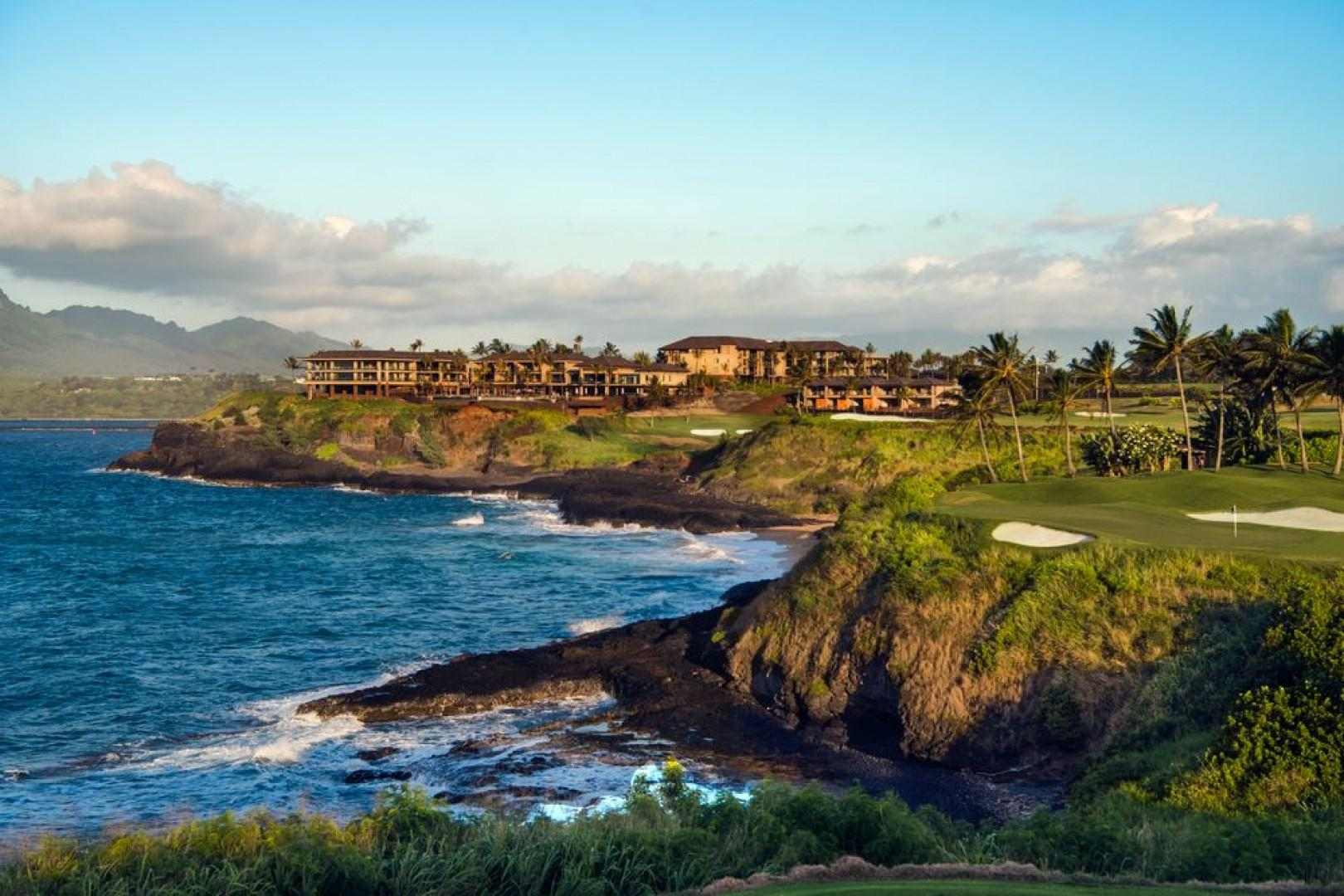 The exquisite section of Kauai's coastline occupied by Hokuala.