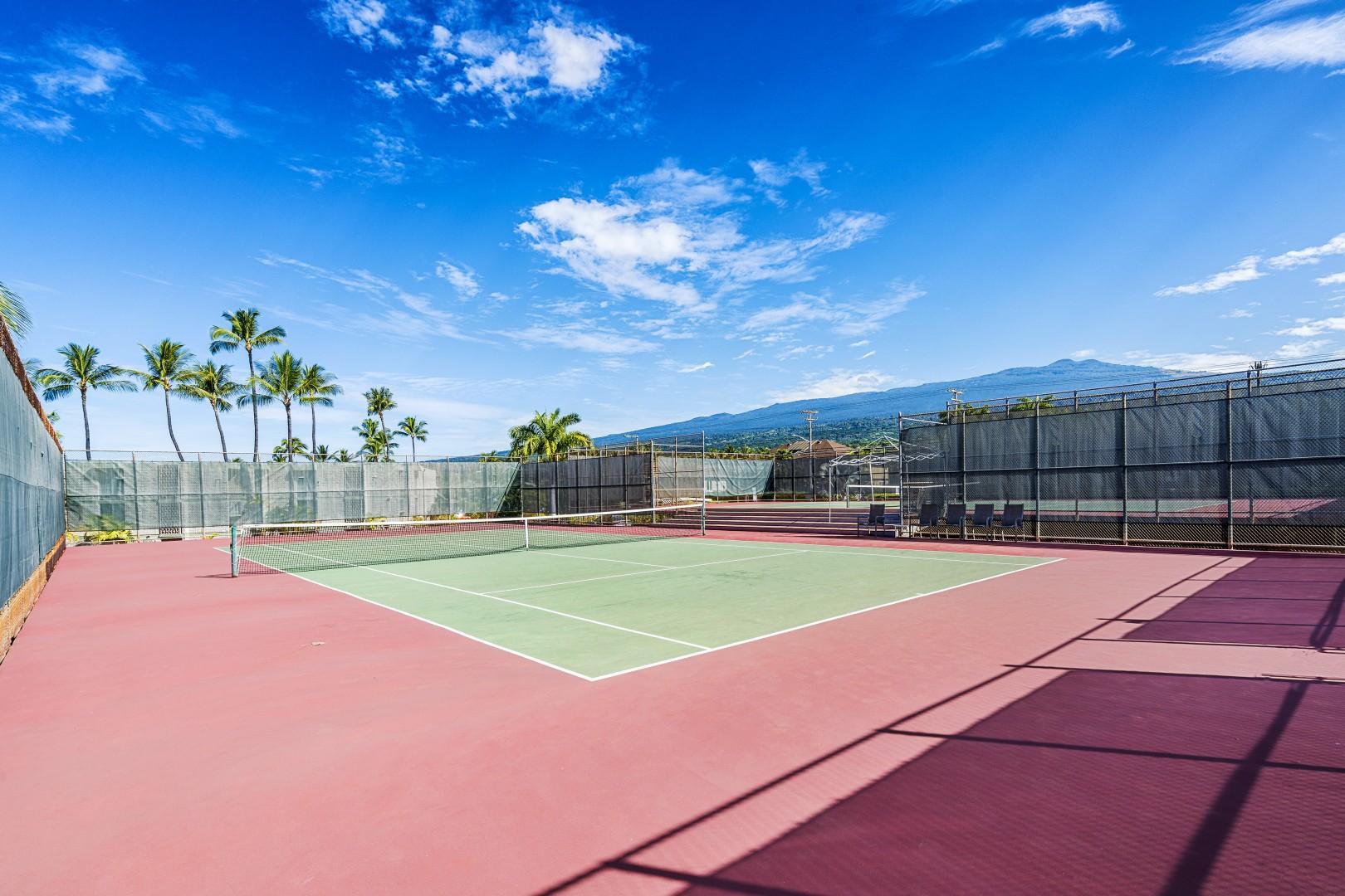 Kona Makai tennis court!