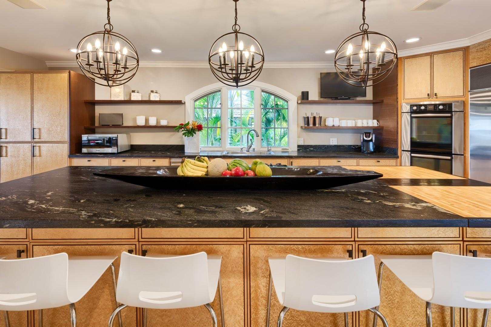 More views of the gorgeous kitchen.