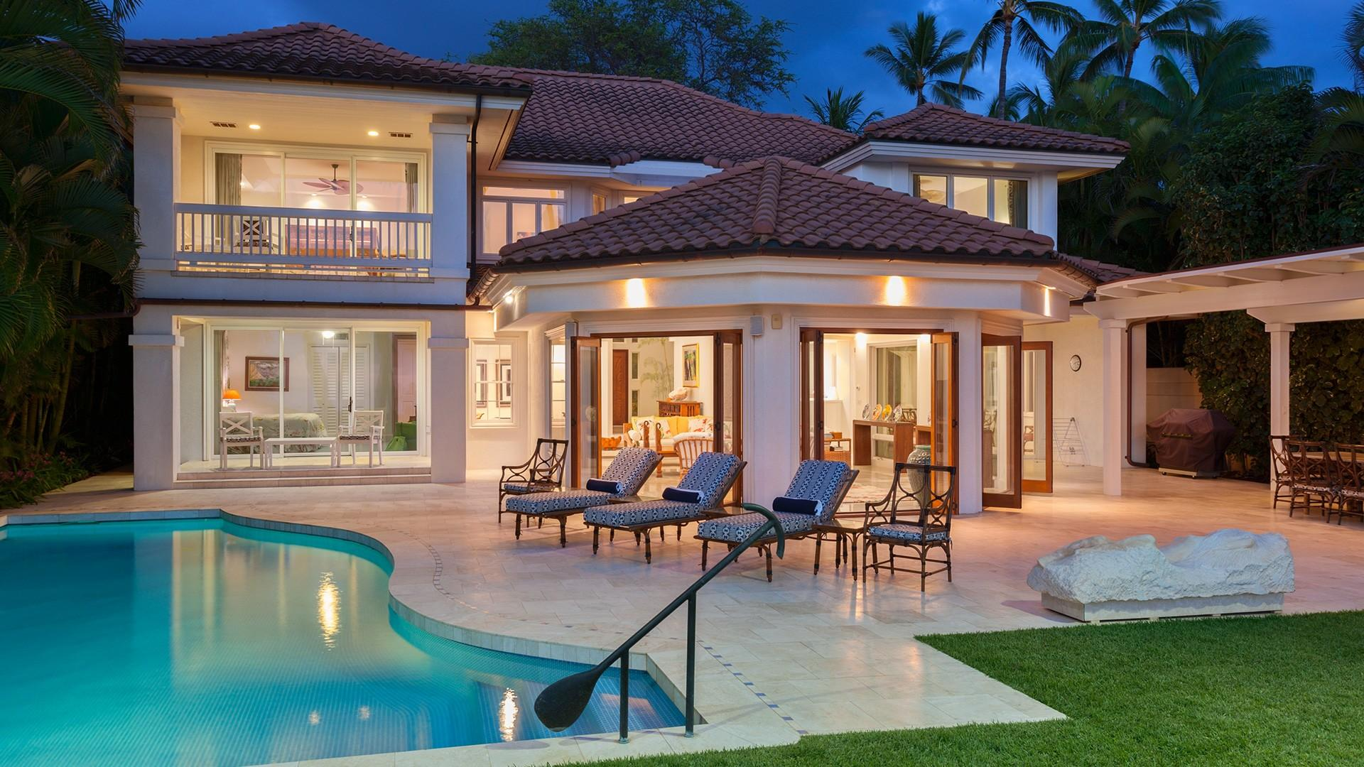 This elegant estate provides the perfect setting for your family's vacation in paradise.
