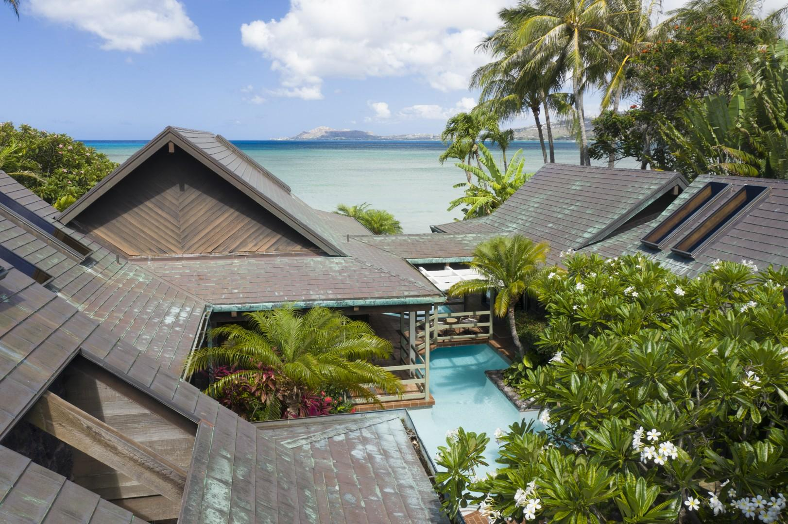 Ocean View from Upstairs Lanai