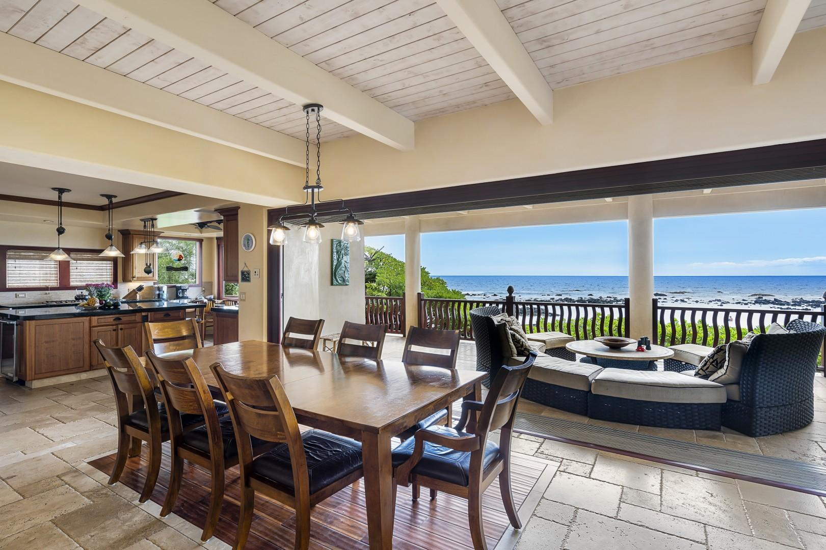 Main level with expansive ocean views!