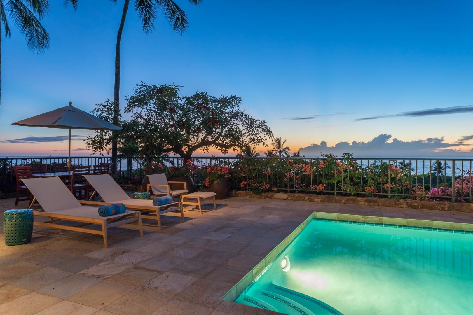 Gorgeous Sunsets Year Round Enjoyed from Pool Deck & Most Rooms.