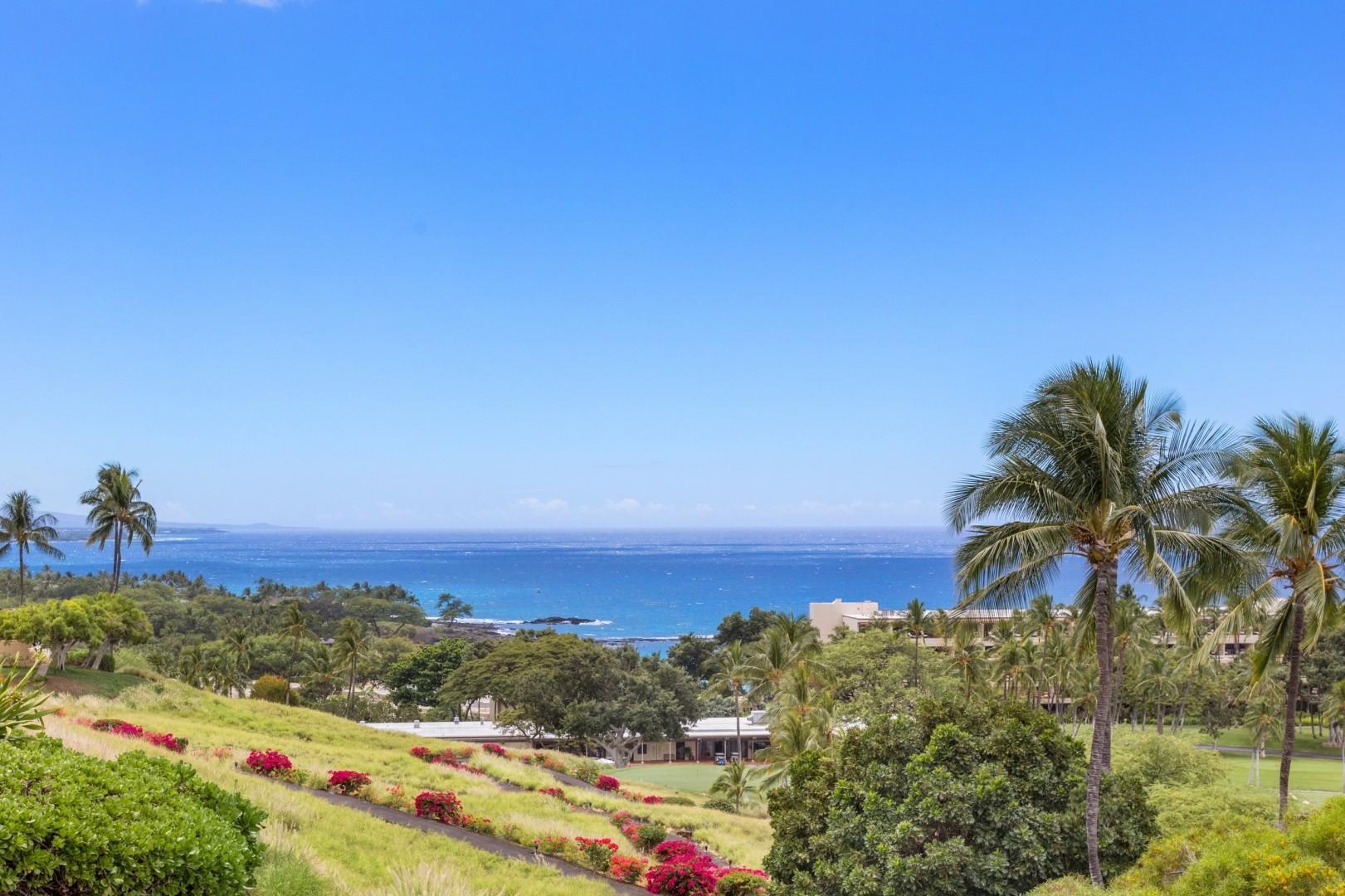 Ocean View from Lanai.