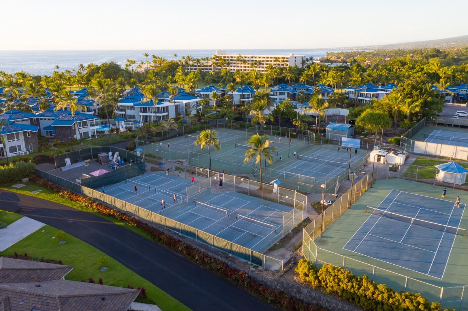 Holua Tennis and Pickel Ball Center