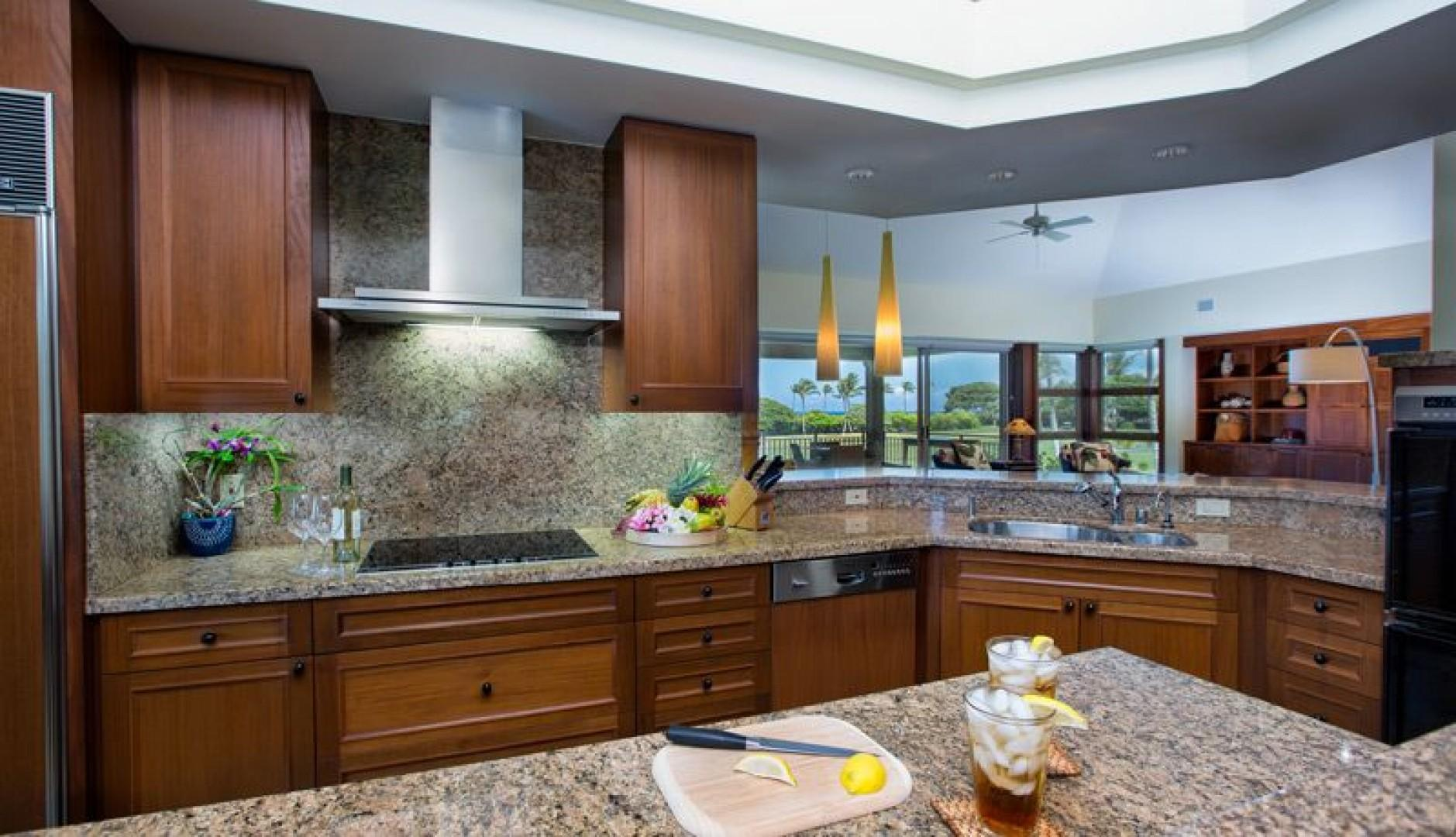Gourmet Kitchen with everything you need.