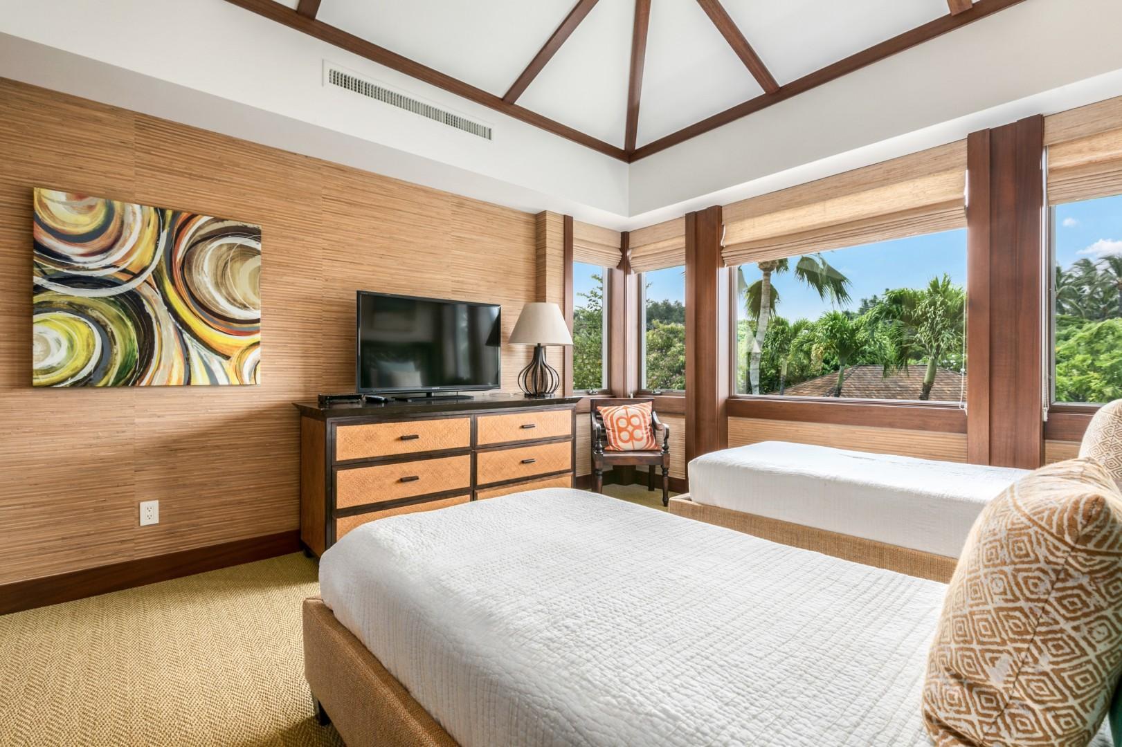 Alternate View of Third Bedroom with En Suite Bath.