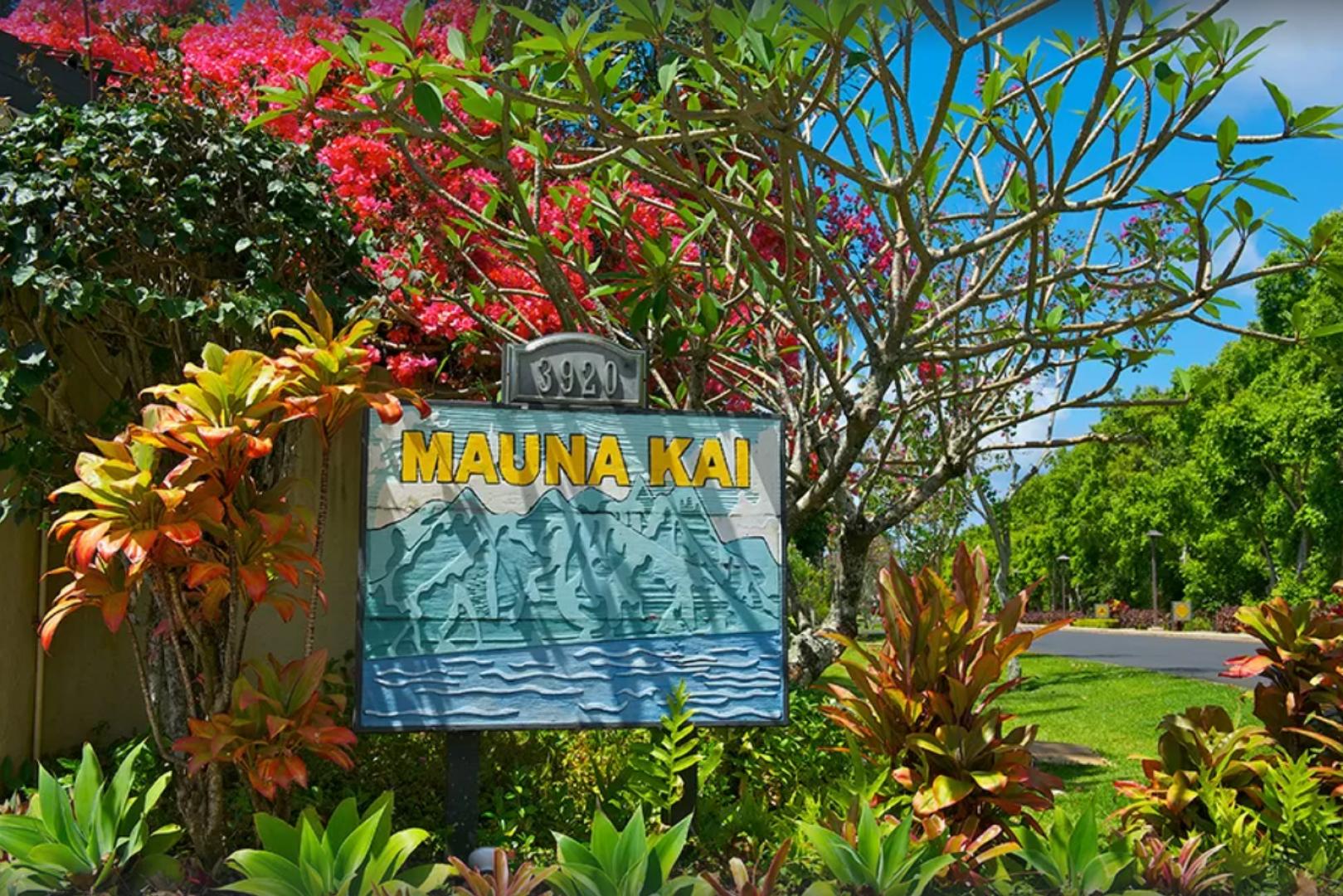Mauna Kai entrance