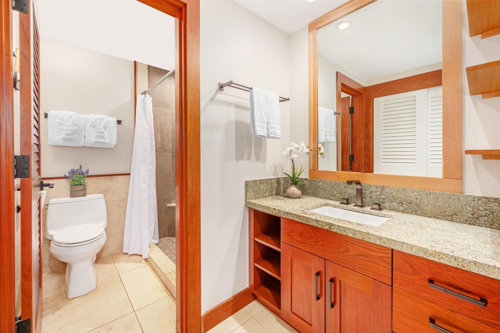 Ensuite Bathroom off of the master bedroom