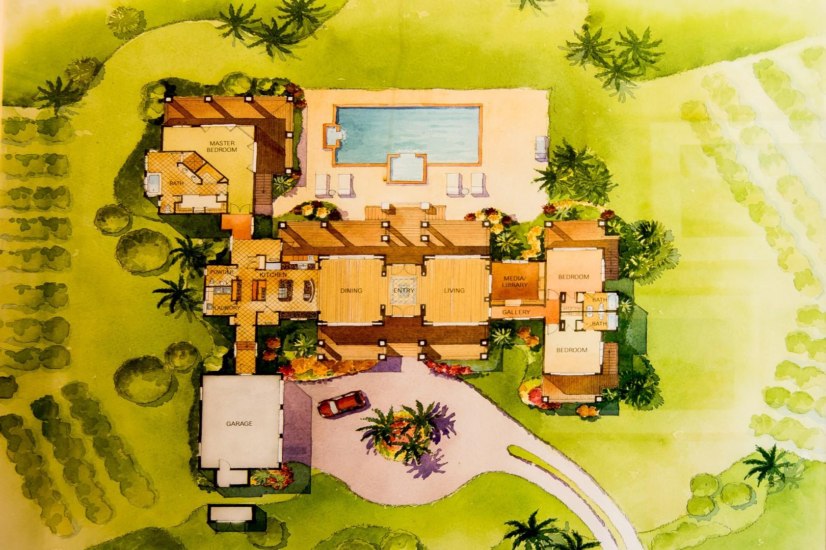 Rainbow Hale Estate Layout