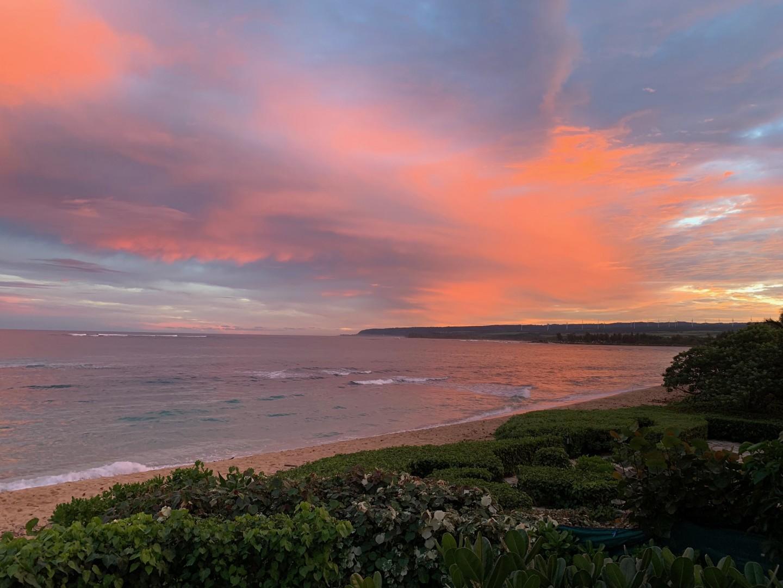 Breathtaking Waialua sunset views