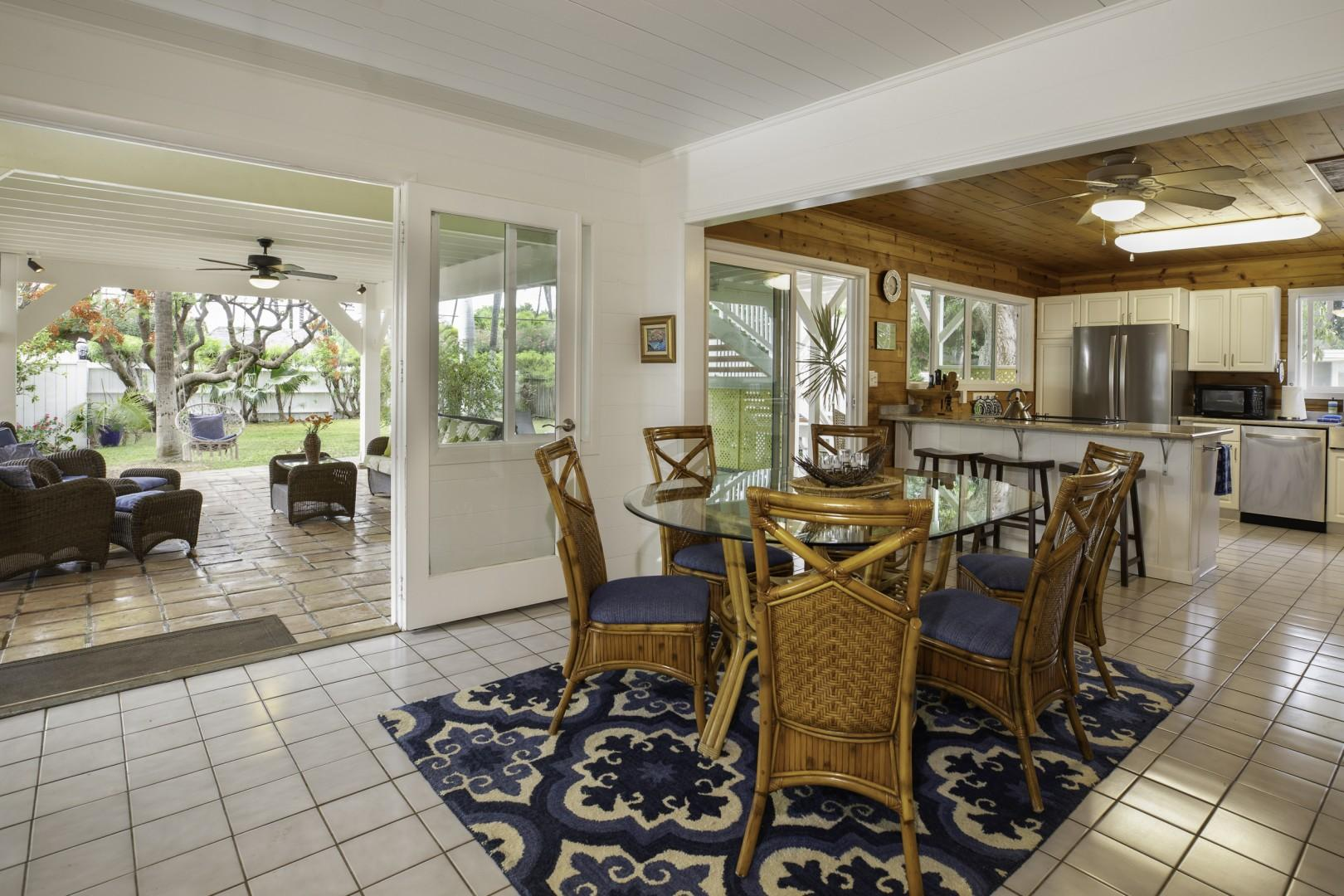 Ample Dining Room Seating