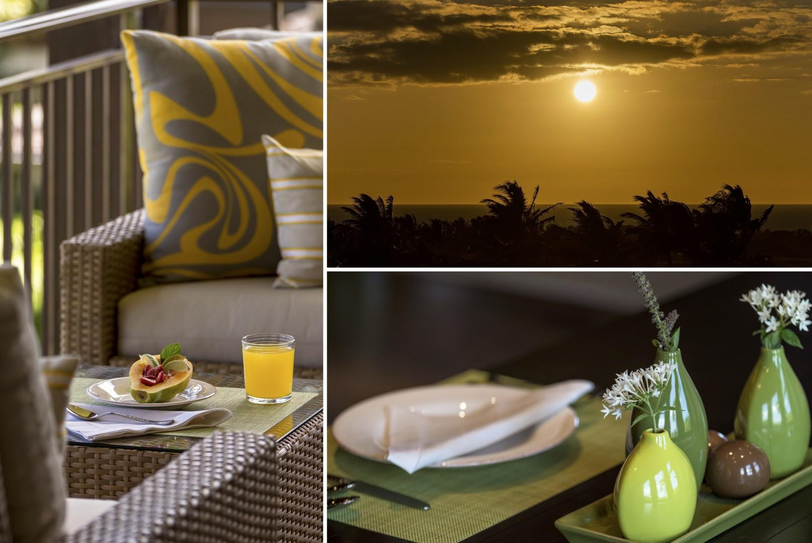 Relax throughout your stay surrounded by luxurious tropical elegance.