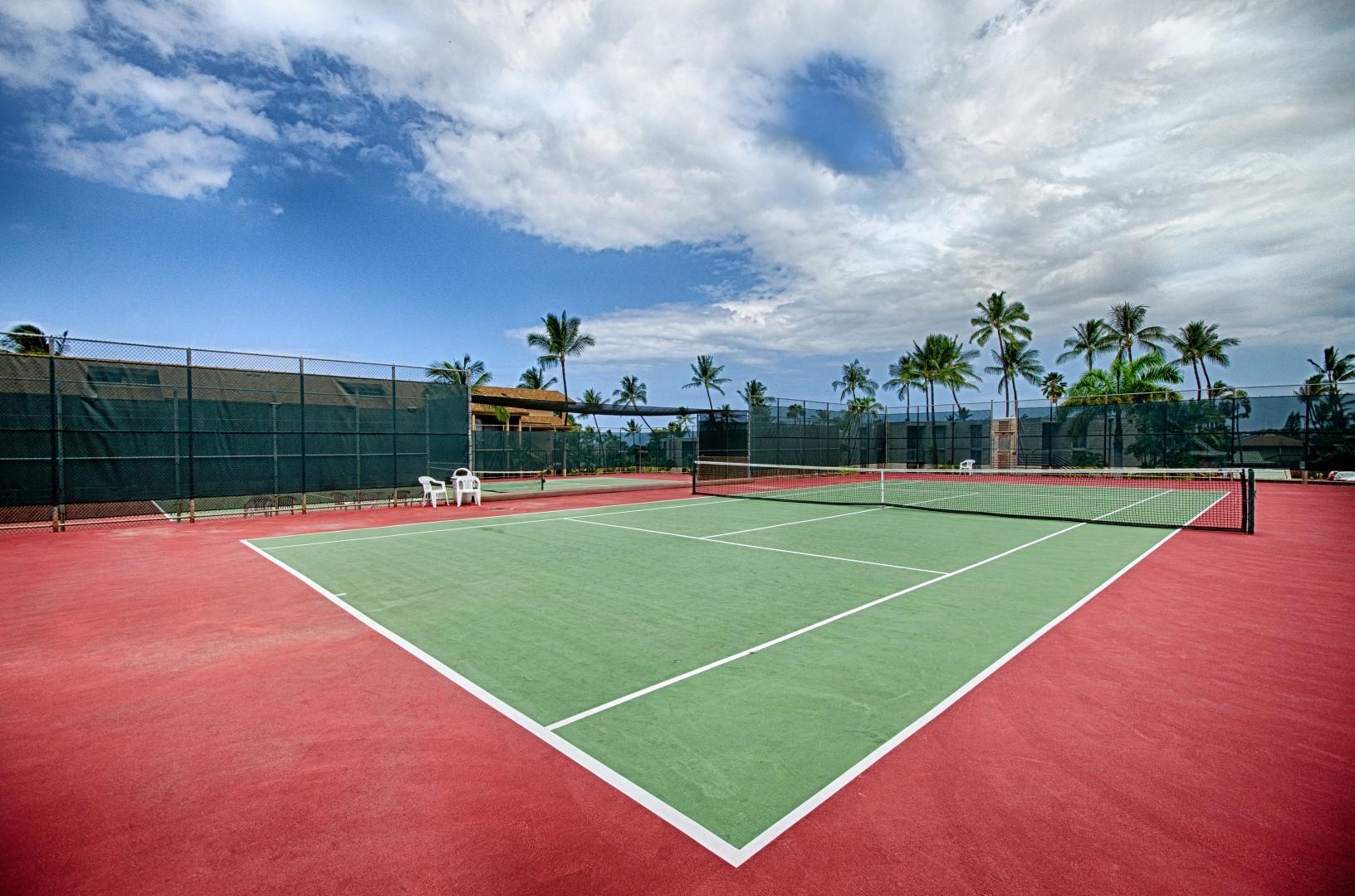 Kona Makai Tennis Court