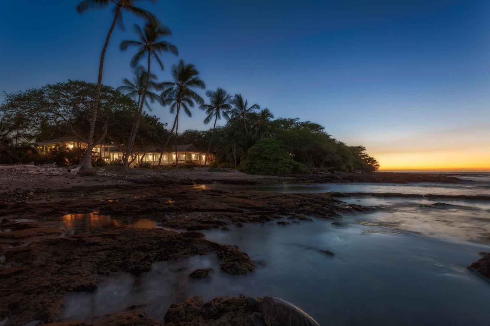 Sunset at Puako 74 is Sure to be a Magical and Memorable Time!