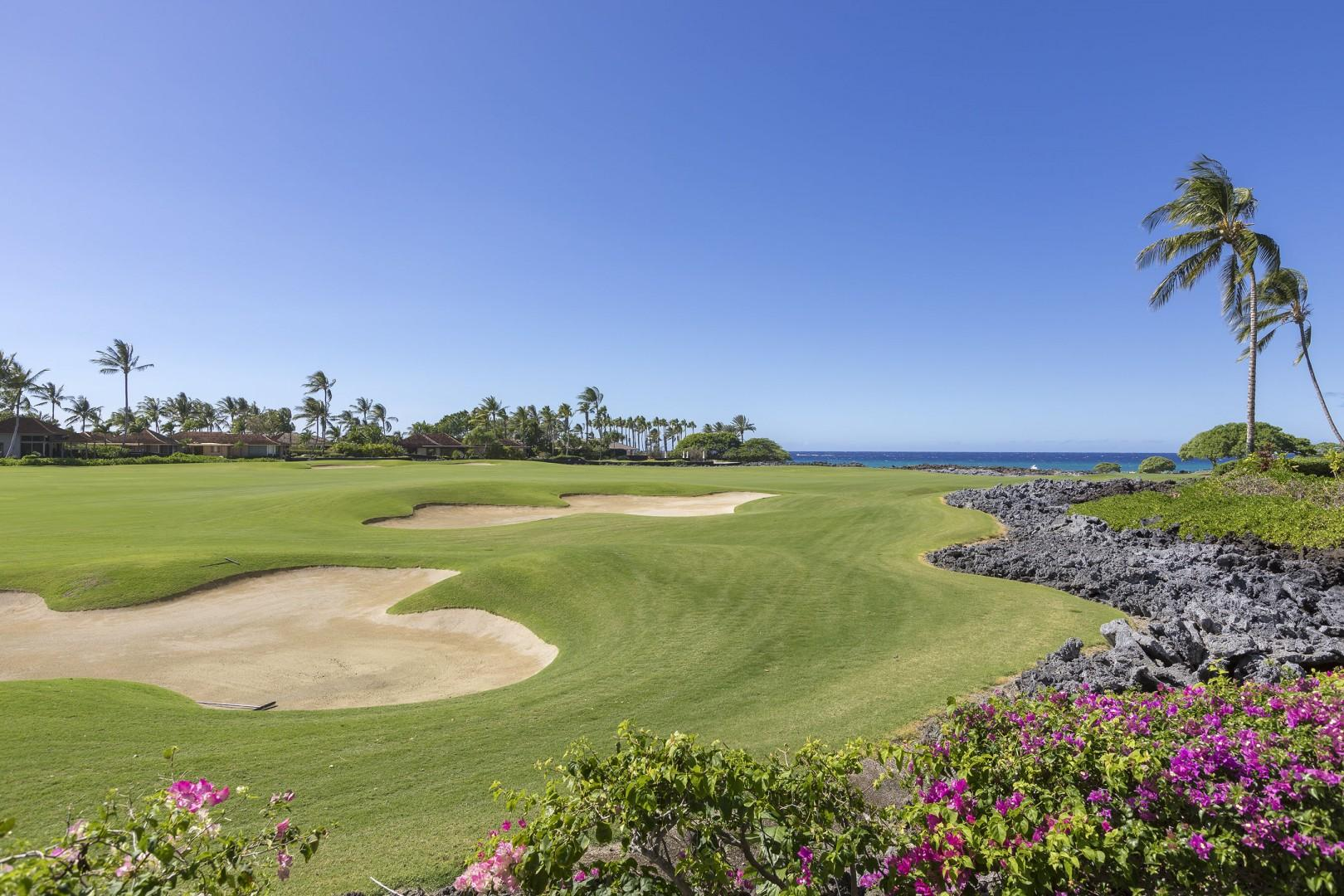 Golf & Ocean Views - you can hear the waves from this villa