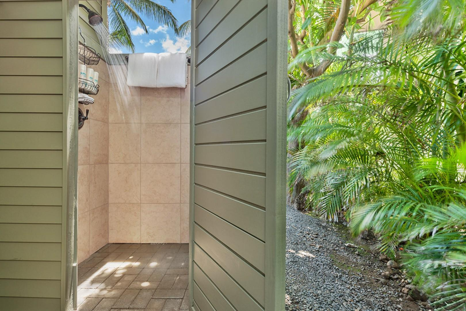 Wailea Sunset Bungalow - Private Outdoor Shower