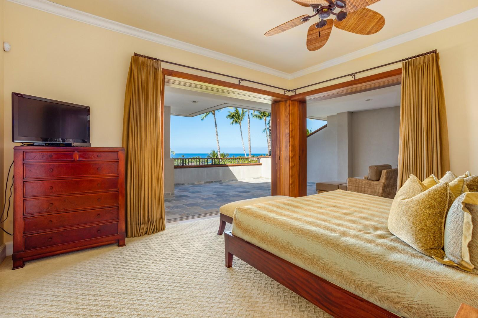 Spacious, breezy bedrooms with gorgeous views!