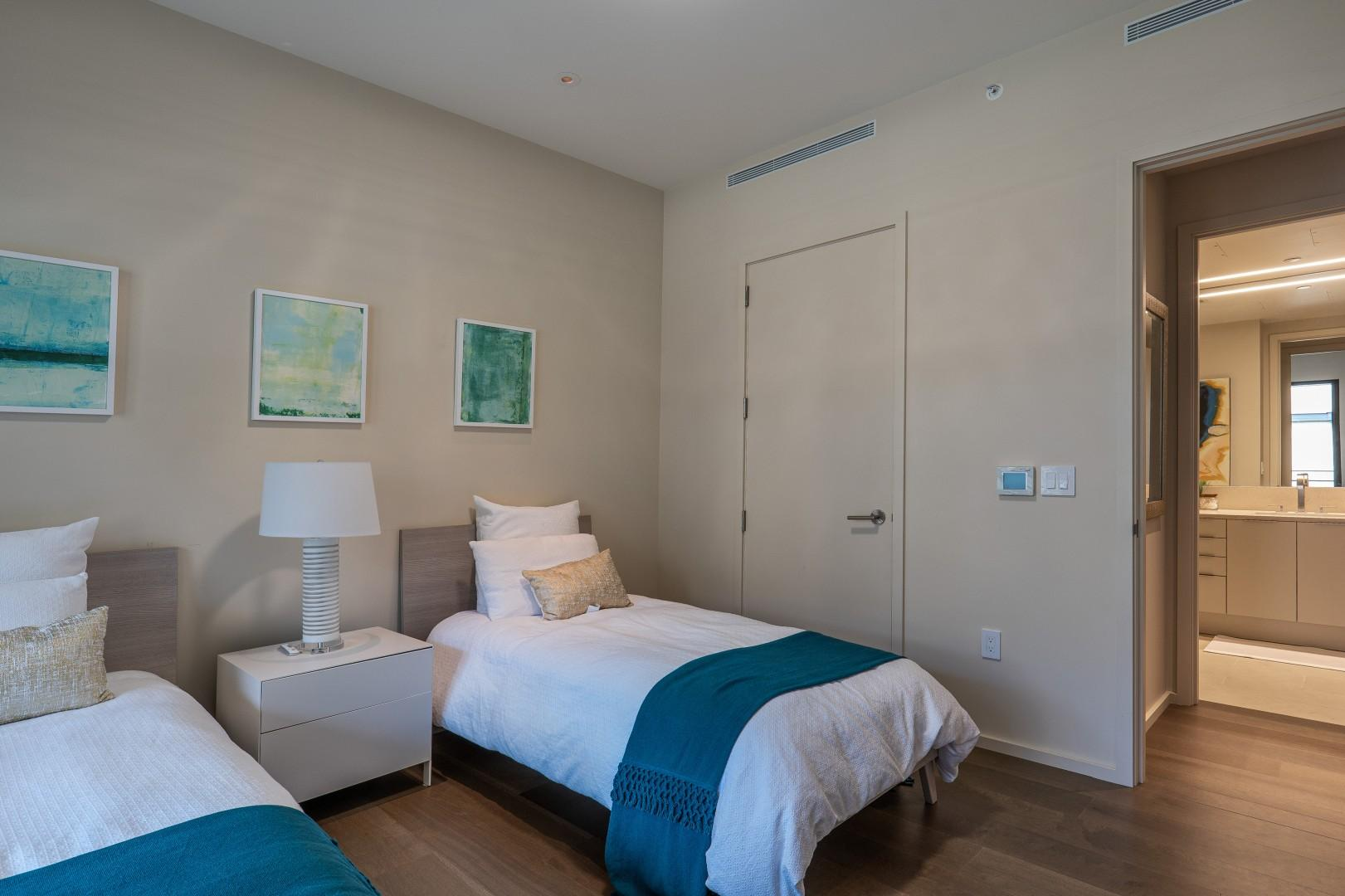 Guest Bedroom with Bathroom across the hall