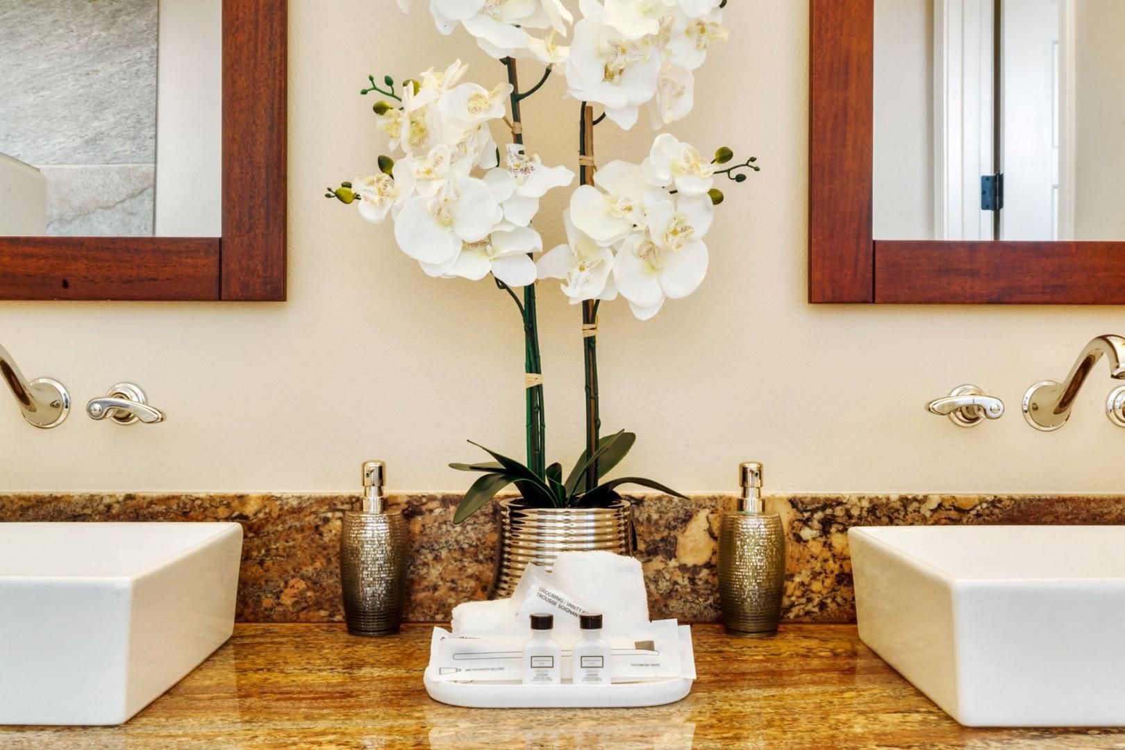 Luxury amenities provided