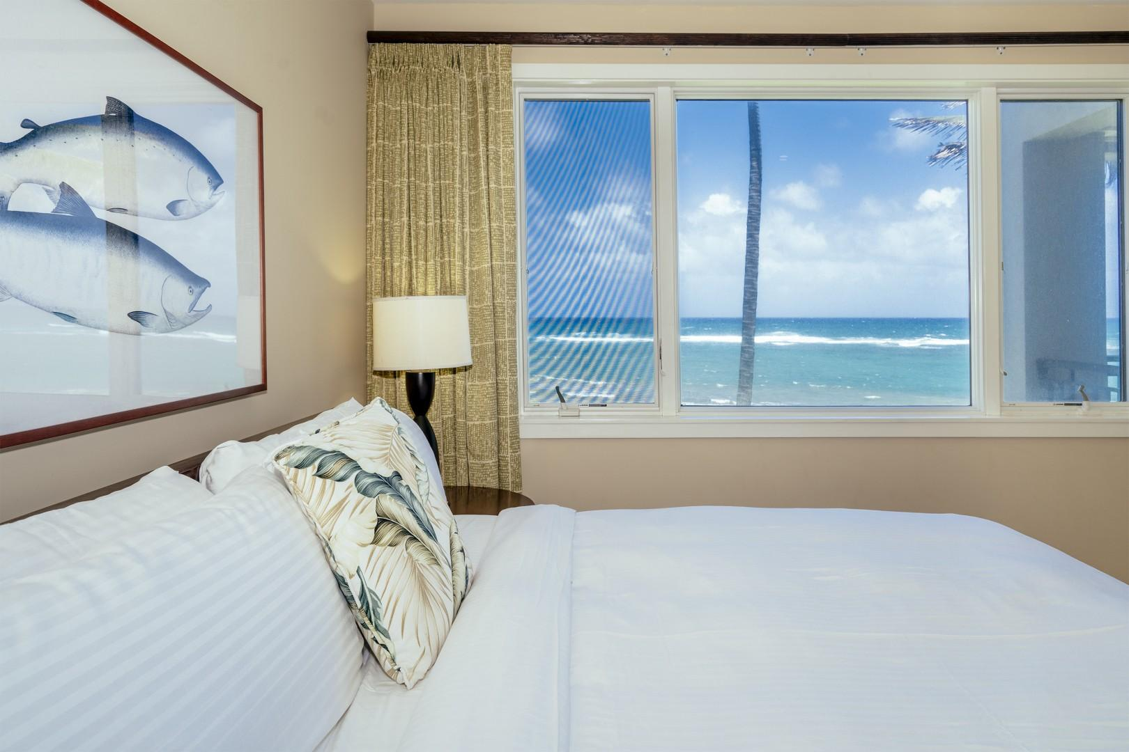 Your own peaceful ocean view.