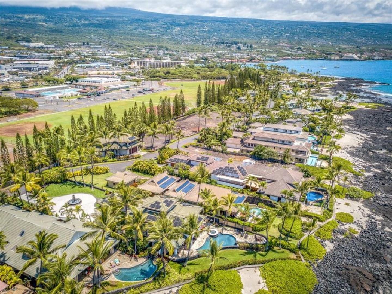 Aerial views of the neighborhood