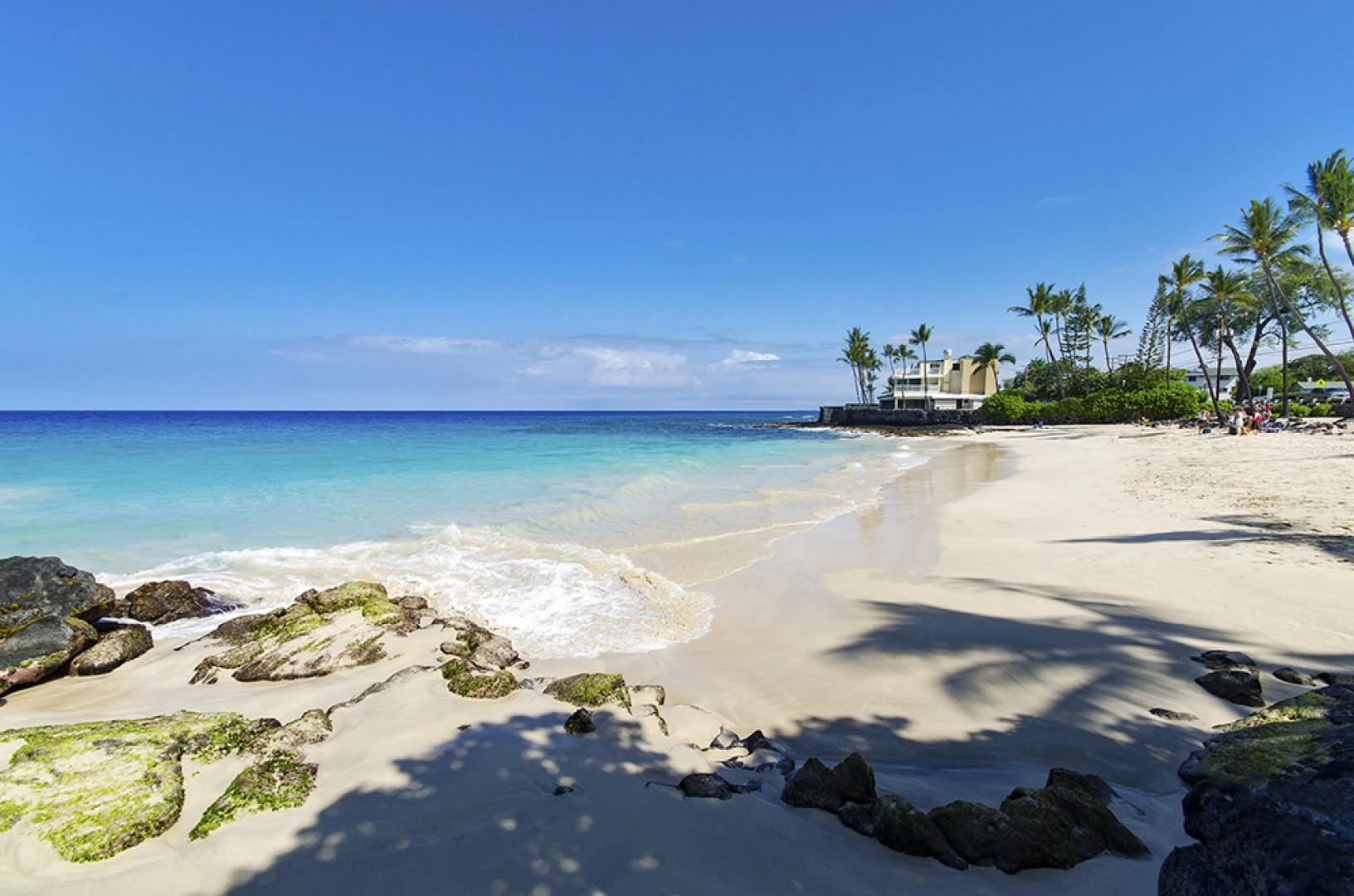 Magic Sands Beach facing North