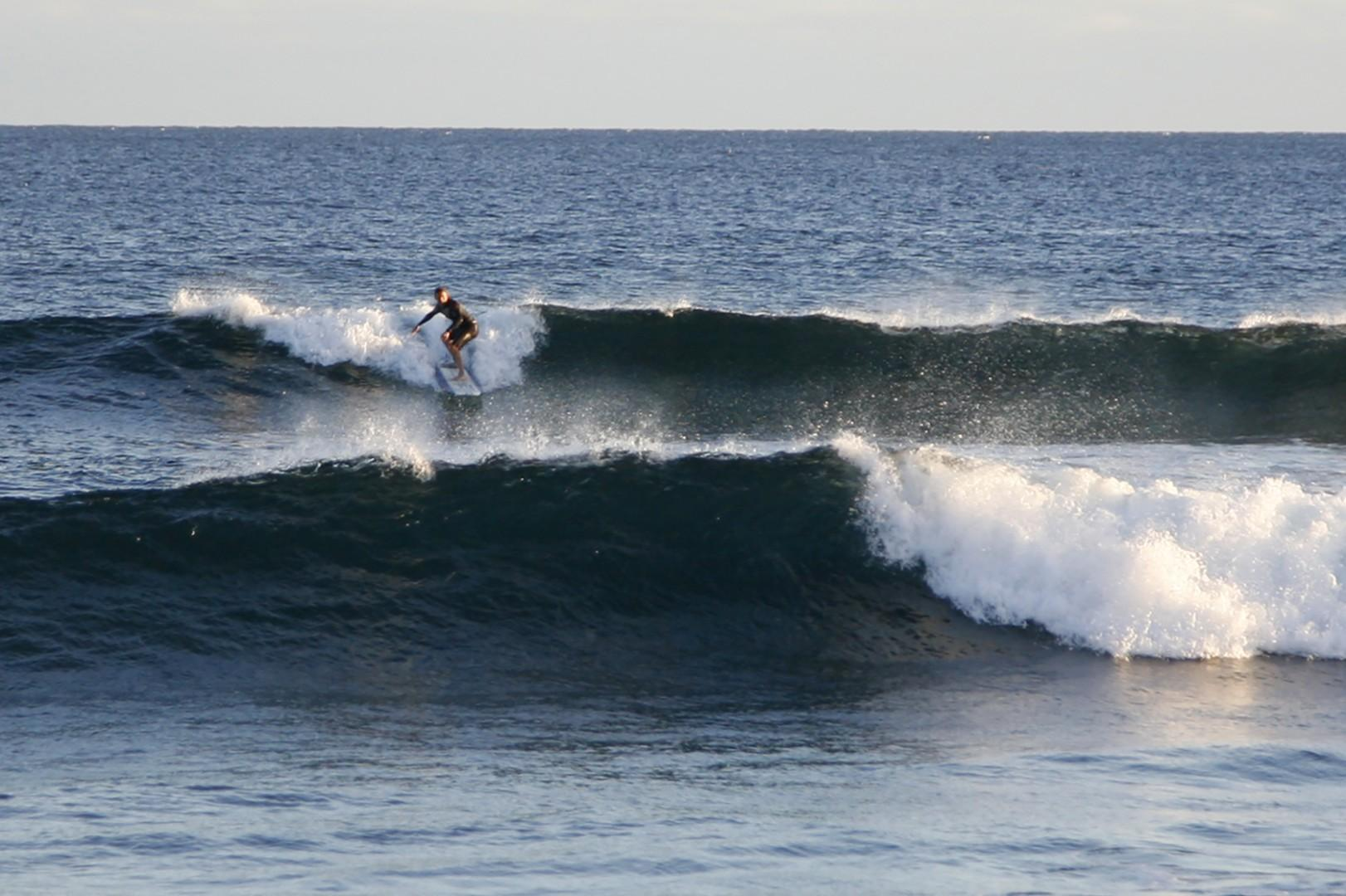 World class surfing within 3 miles