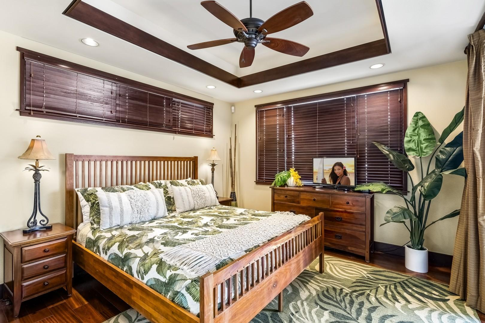 Guest bedroom nearest the pool