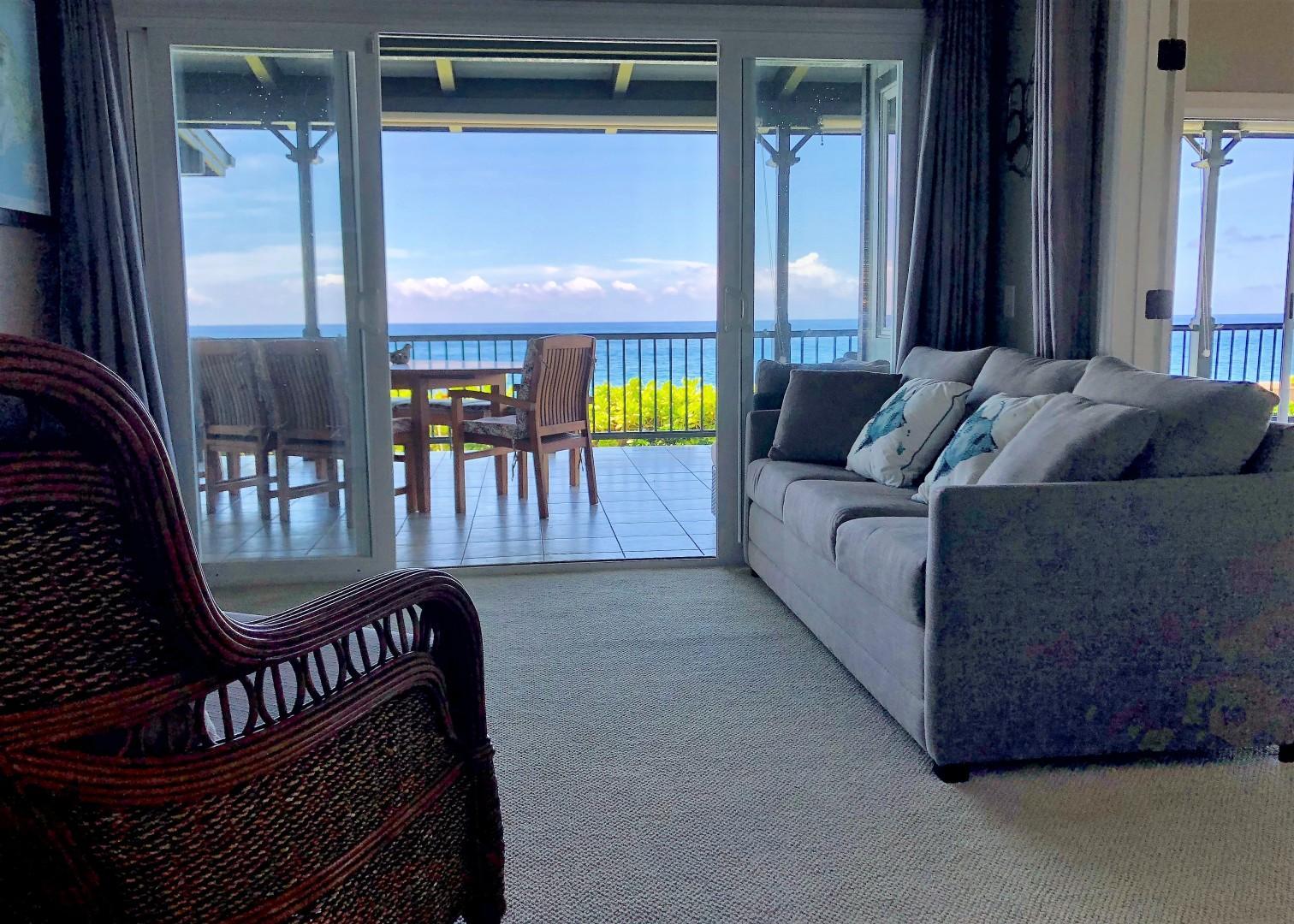 Bonus room with Ocean view and comfortable sleeper sofa!